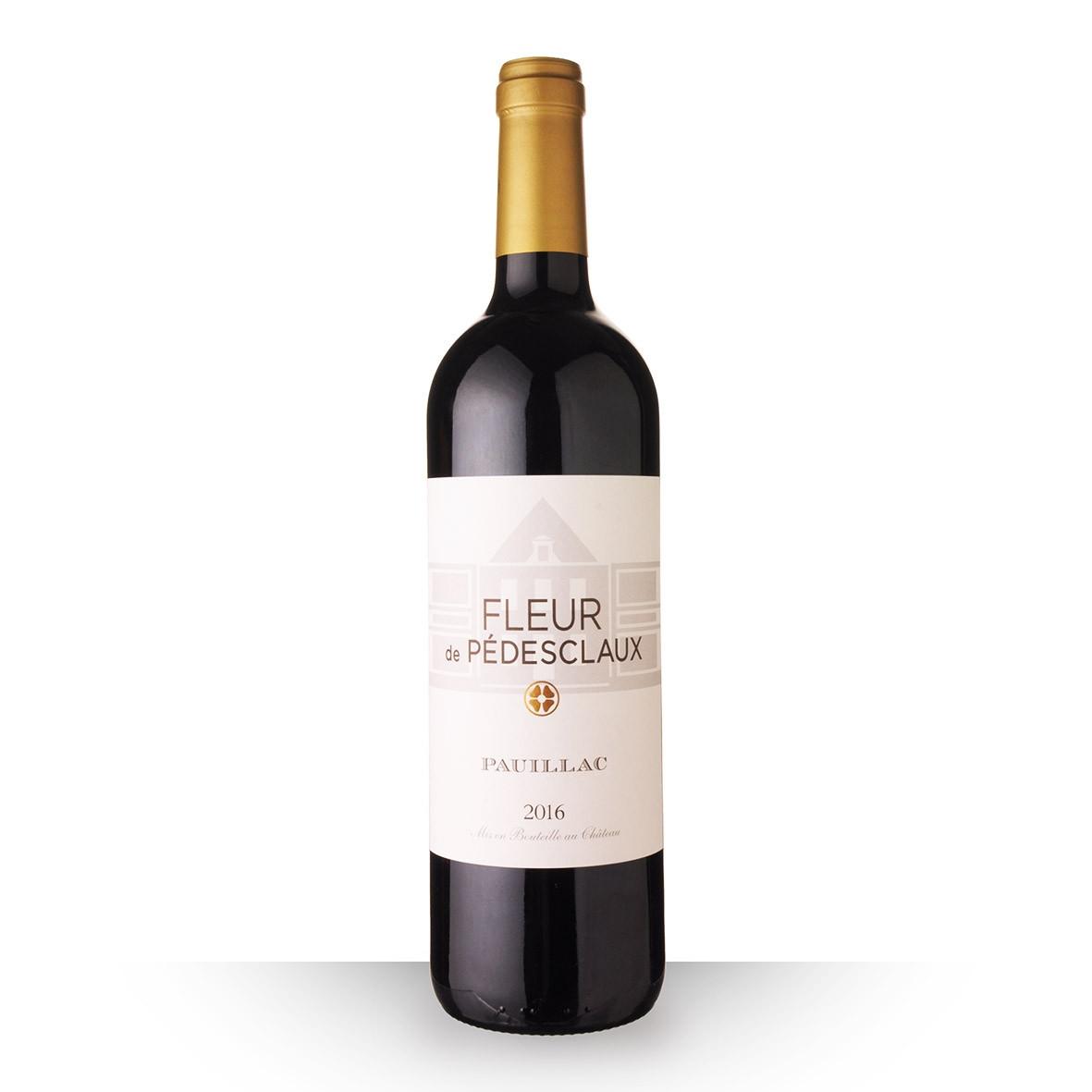 La Fleur de Pedesclaux Pauillac Rouge 2016 75cl www.odyssee-vins.com
