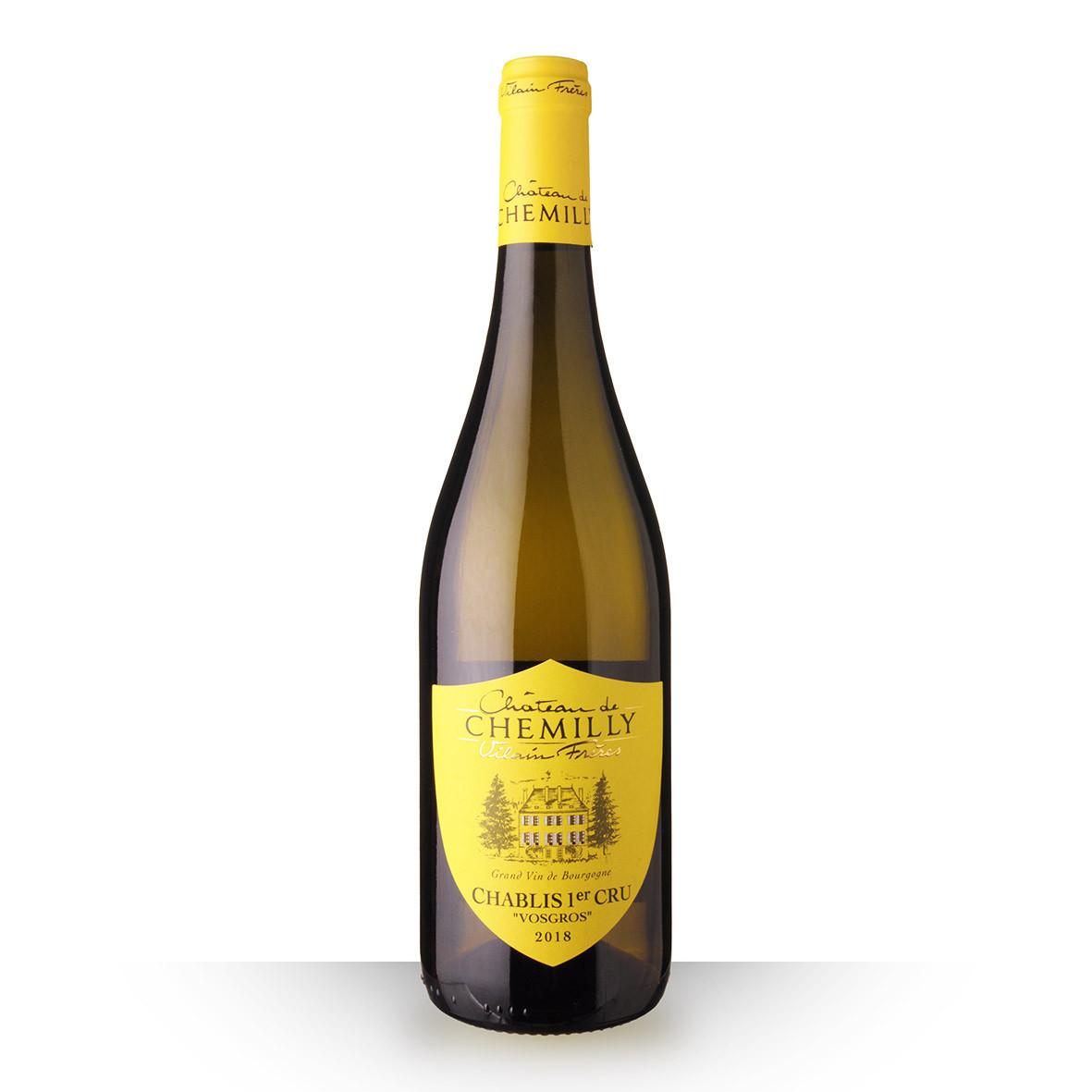 Château de Chemilly Chablis 1er Cru VosGros Blanc 2018 75cl www.odyssee-vins.com