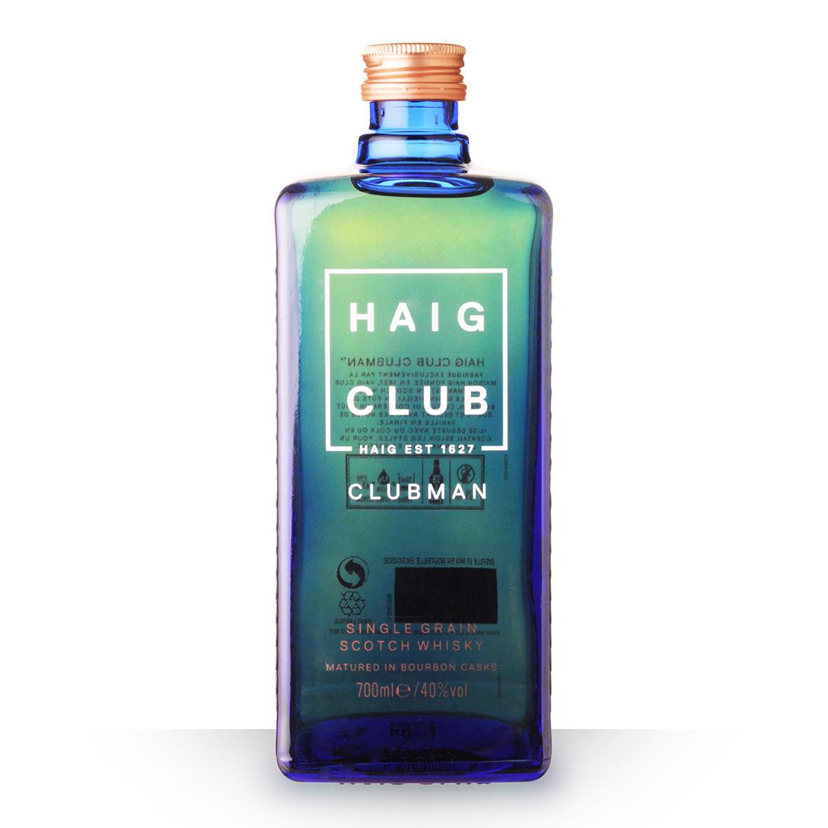 Whisky Haig Club Clubman 70cl www.odyssee-vins.com