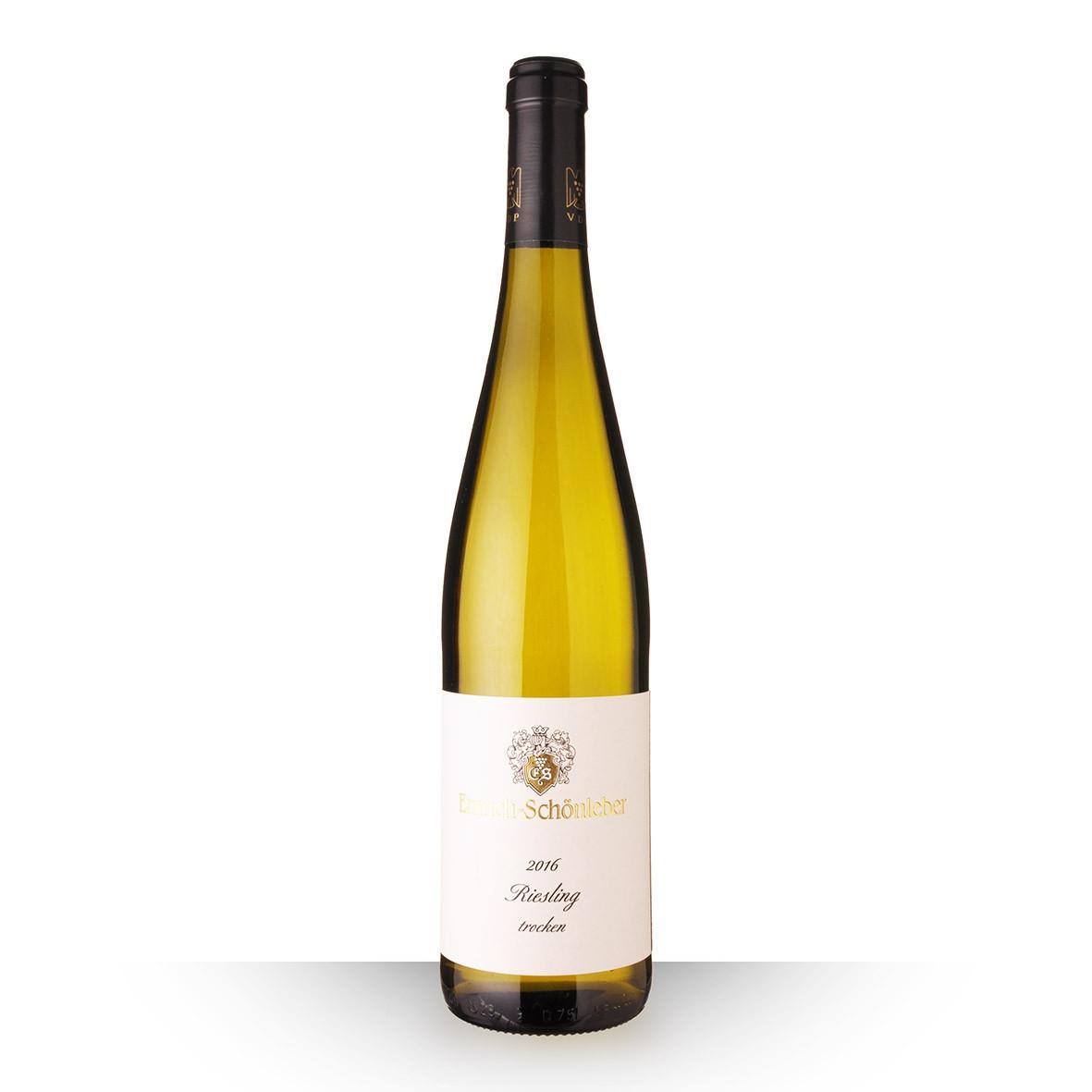 Emrich-Shöenleber Riesling Trocken Blanc 2016 75cl www.odyssee-vins.com