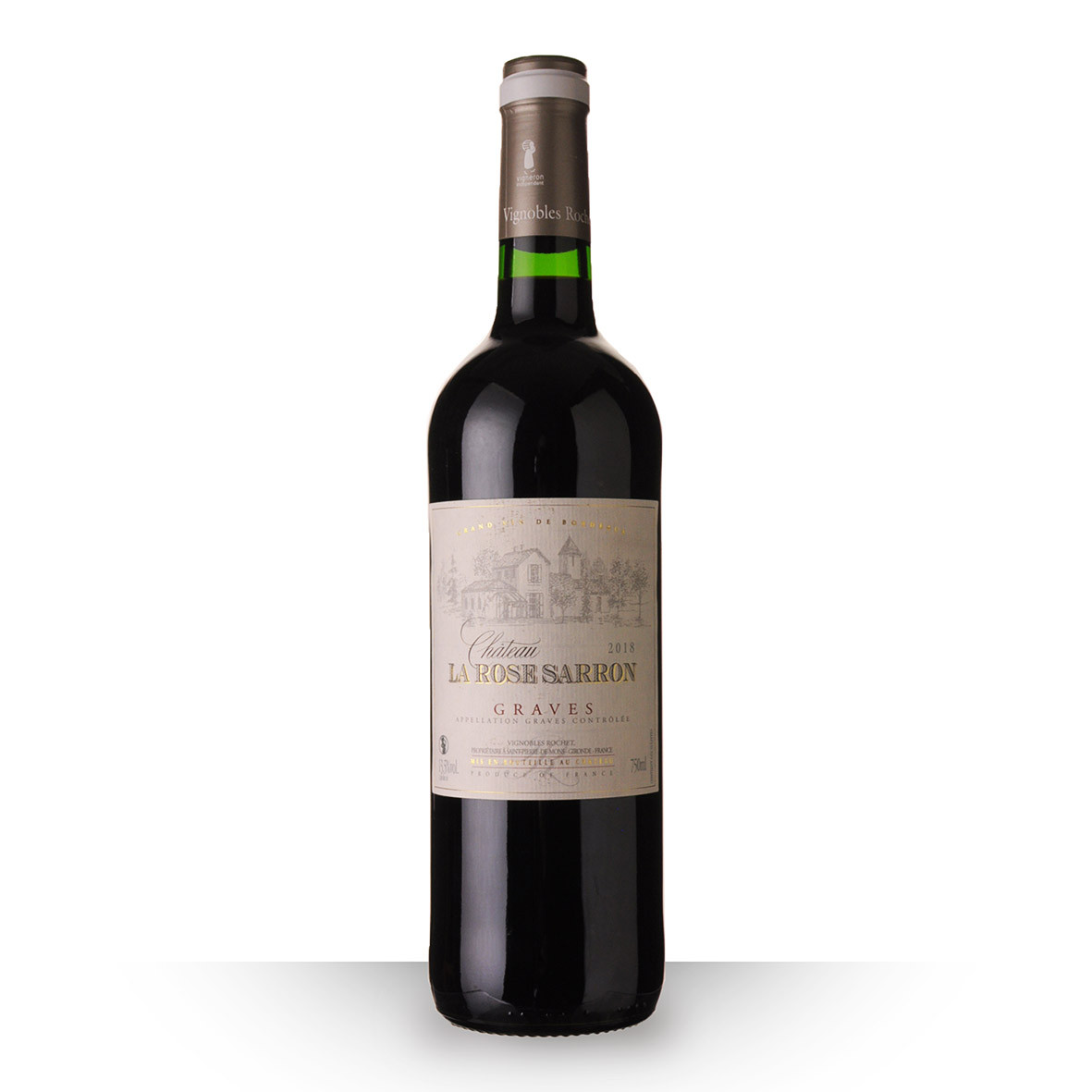 Château la Rose Sarron Graves Rouge 2018 75cl www.odyssee-vins.com