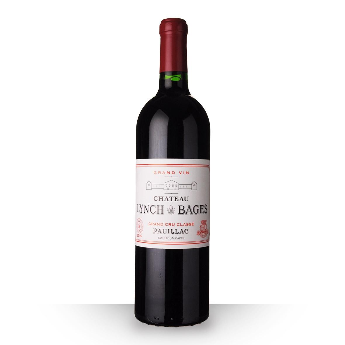 Château Lynch-Bages Pauillac Rouge 2015 75cl www.odyssee-vins.com