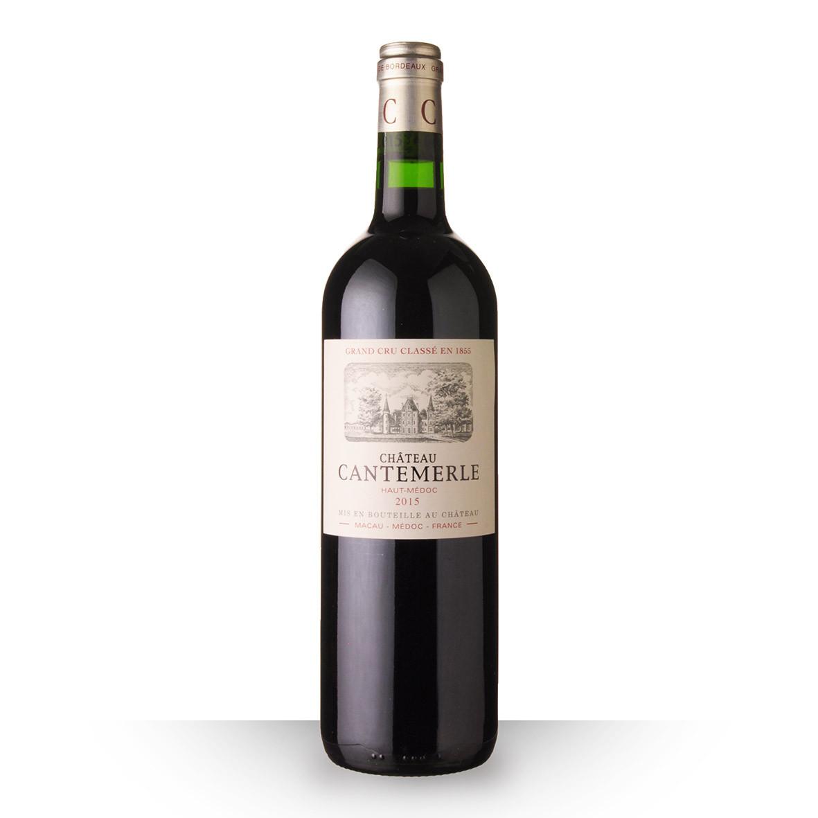 Château Cantemerle Haut-Médoc Rouge 2015 75cl www.odyssee-vins.com