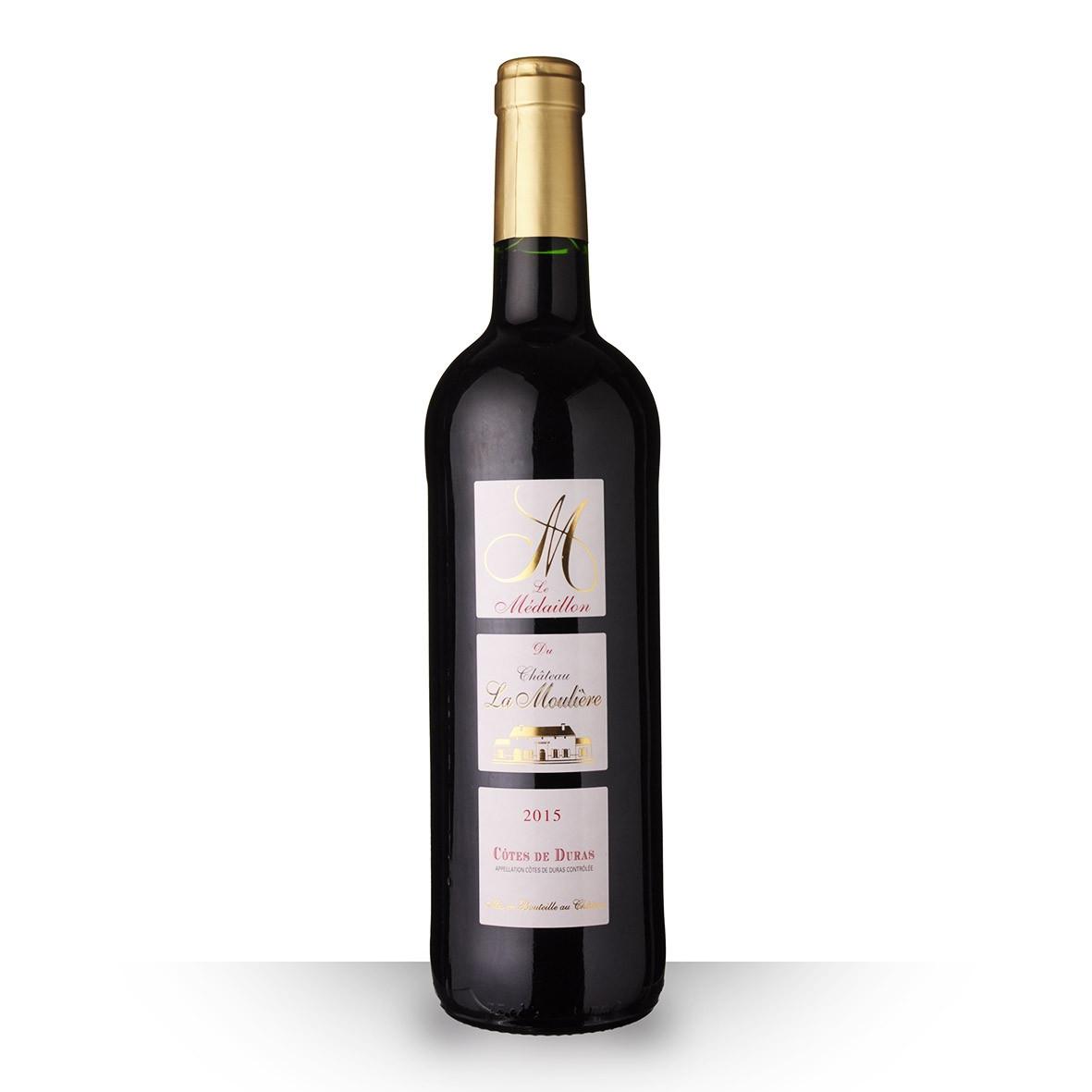 Le Médaillon du Château la Moulière Côtes de Duras Rouge 2015 75cl www.odyssee-vins.com