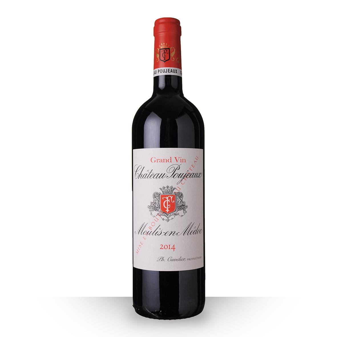 Château Poujeaux Moulis-en-Médoc Rouge 2014 75cl www.odyssee-vins.com