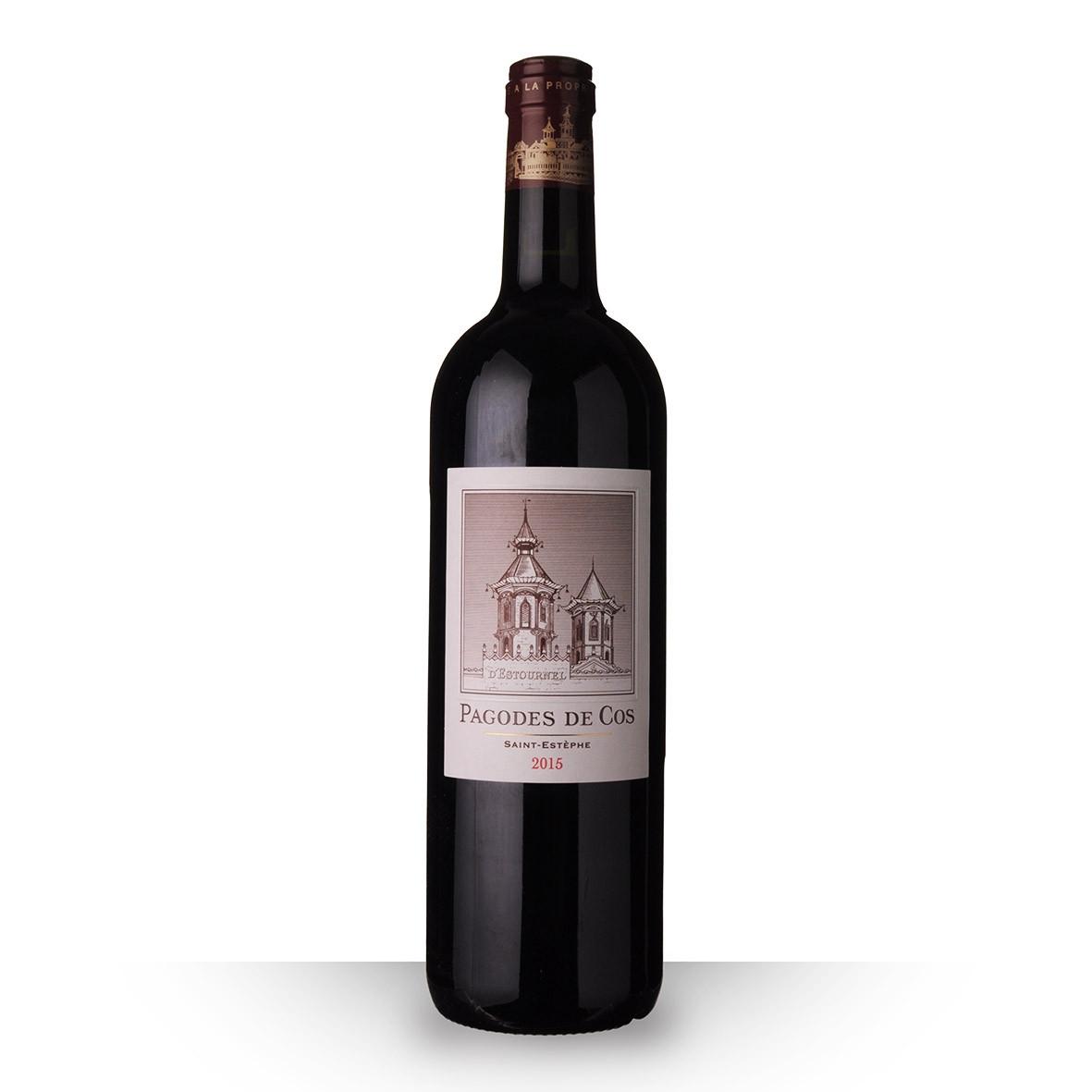 Les Pagodes de Cos Saint-Estèphe Rouge 2015 75cl www.odyssee-vins.com
