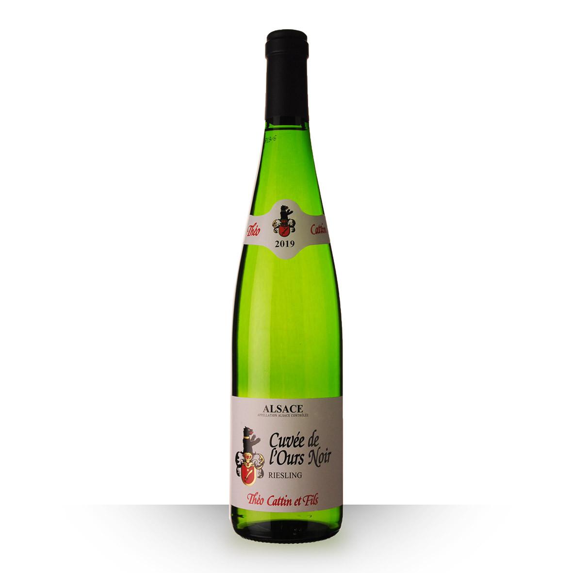 Théo Cattin Cuvée de lOurs Noir Alsace Riesling Blanc 2019 75cl www.odyssee-vins.com