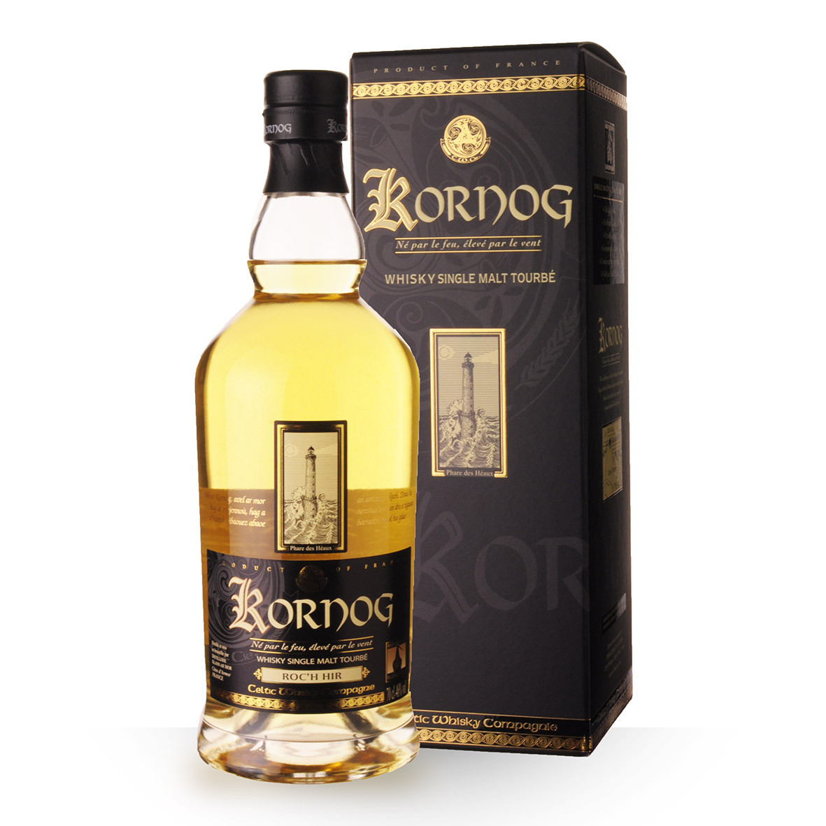 Whisky Kornog 70cl Etui www.odyssee-vins.com