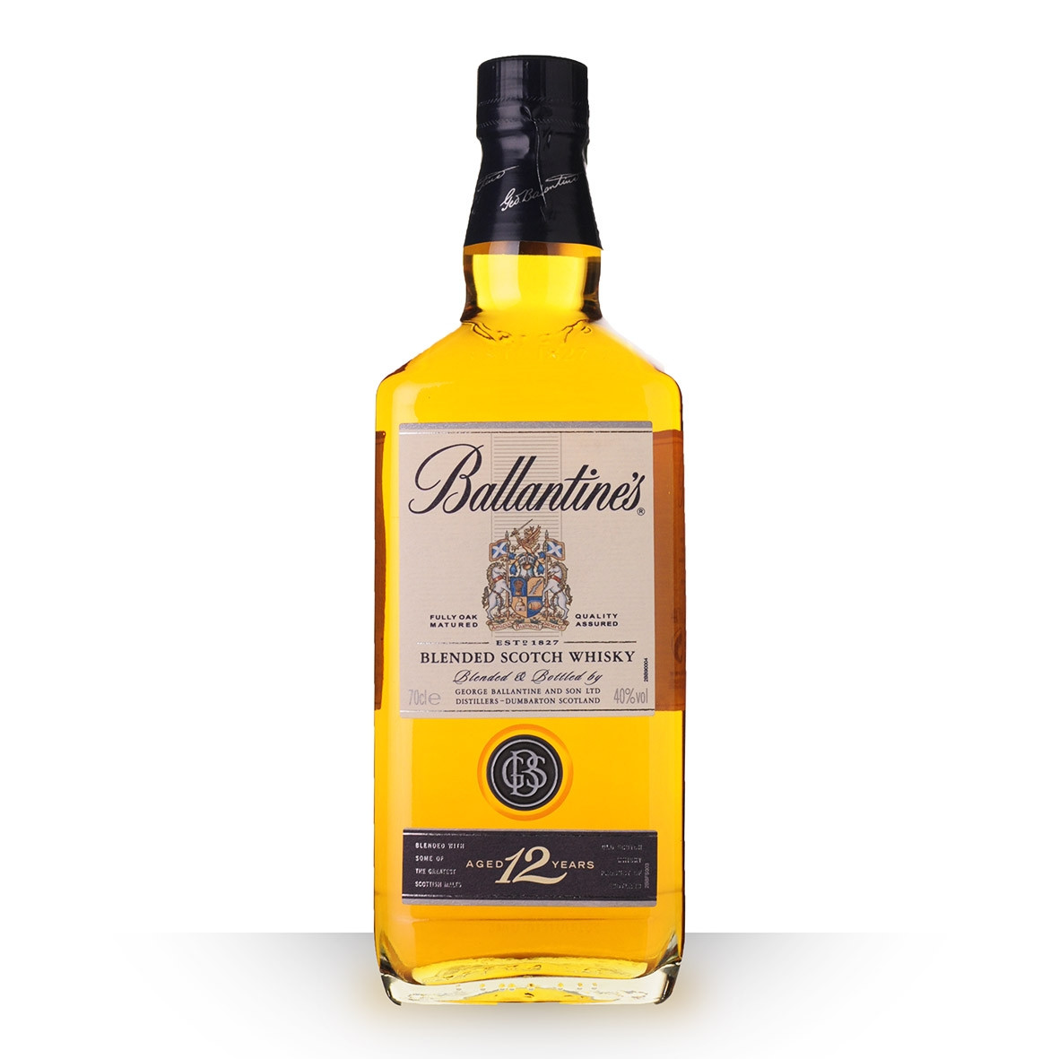 Whisky Ballantines 12 ans 70cl www.odyssee-vins.com