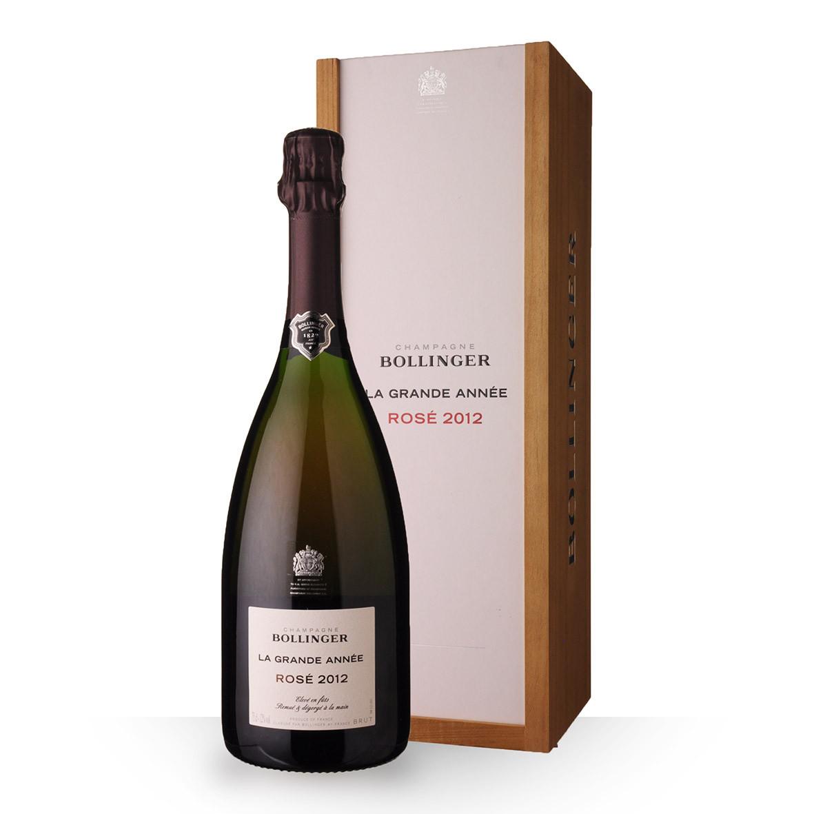 Champagne Bollinger La Grande Année 2012 Brut Rosé 75cl Coffret www.odyssee-vins.com