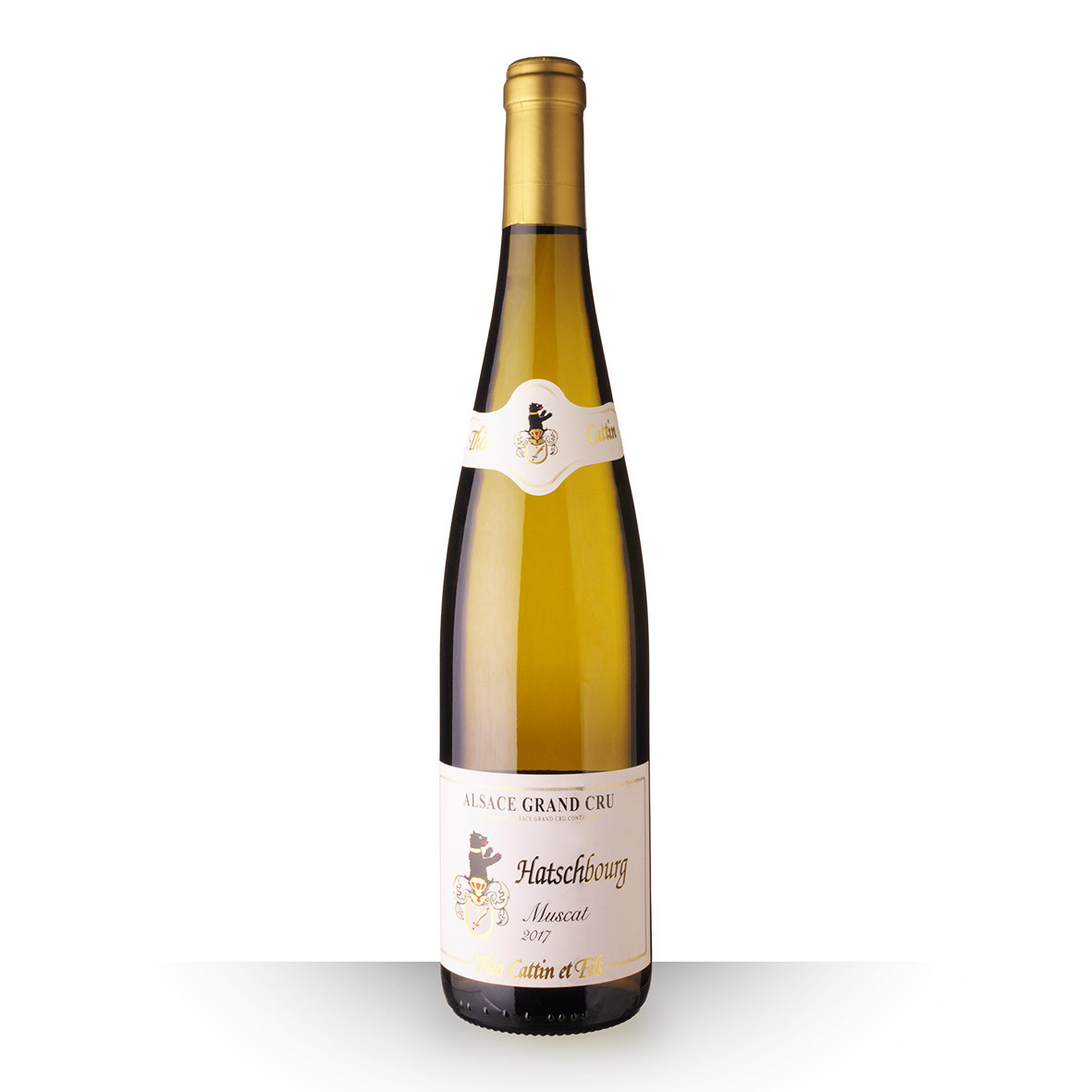 Théo Cattin Alsace Muscat Hatschbourg Blanc 2017 75cl www.odyssee-vins.com