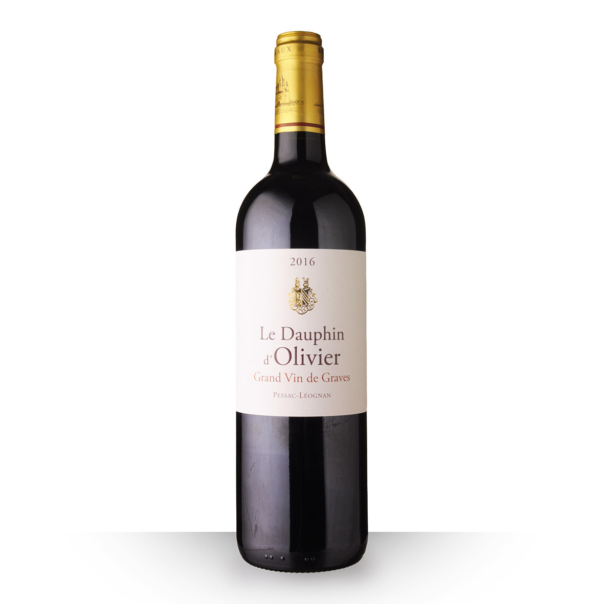 Le Dauphin dOlivier Pessac-Léognan Rouge 2016 75cl www.odyssee-vins.com