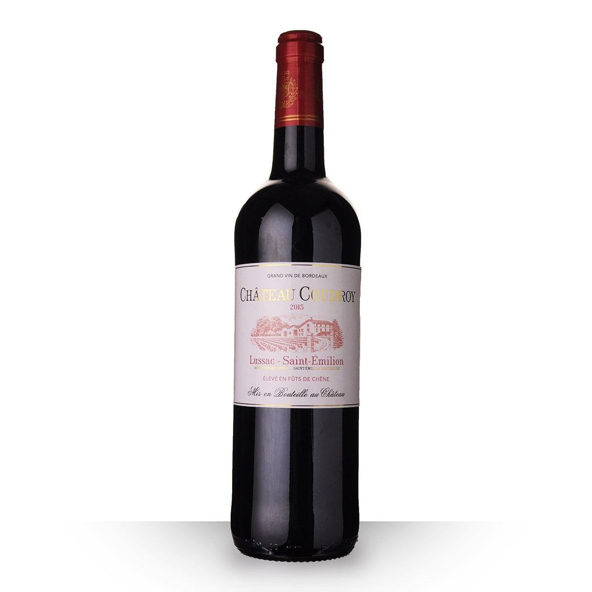 Château Coudroy Lussac-Saint-Emilion Rouge 2015 75cl www.odyssee-vins.com