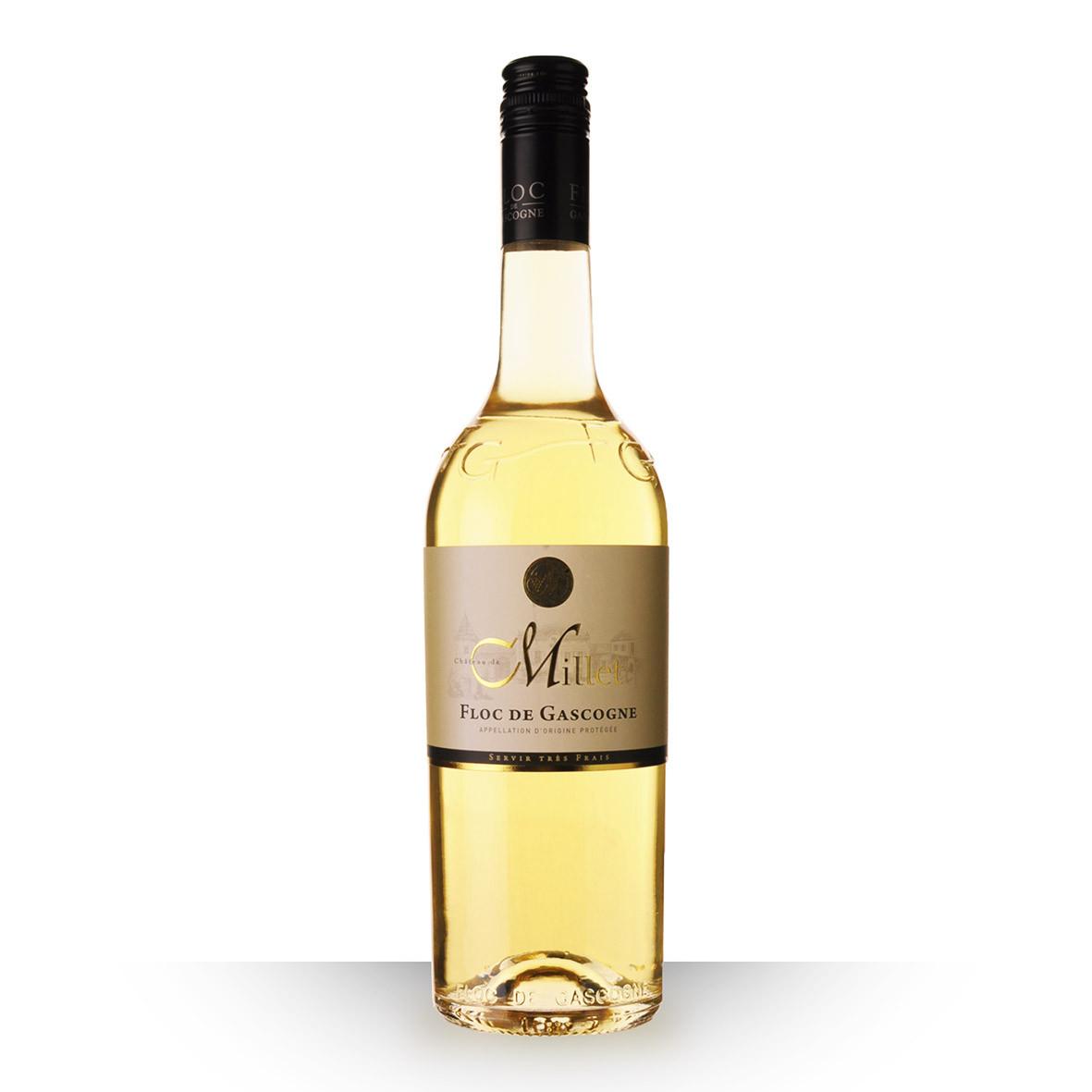 Floc de Gascogne Château de Millet Blanc 75cl www.odyssee-vins.com