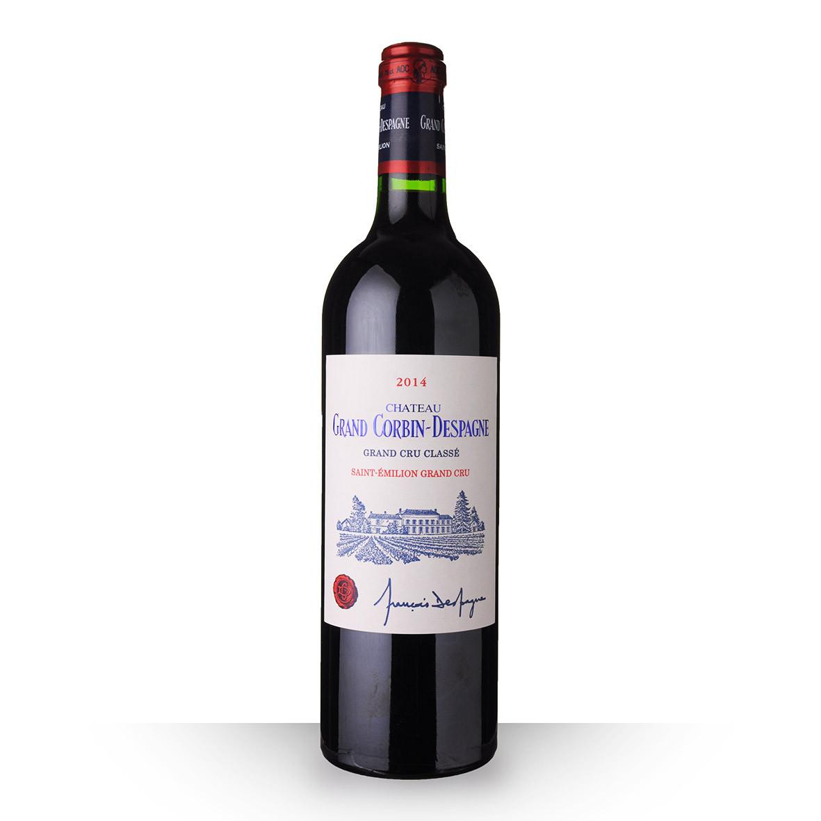 Château Grand Corbin-Despagne Saint-Emilion Grand Cru Rouge 2014 75cl www.odyssee-vins.com