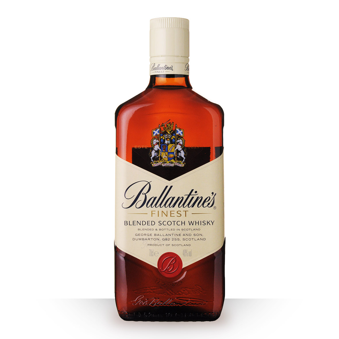 Whisky Ballantines Finest 70cl www.odyssee-vins.com