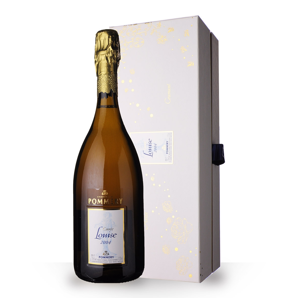 Champagne Pommery Cuvée Louise 2004 Brut 75cl Coffret www.odyssee-vins.com