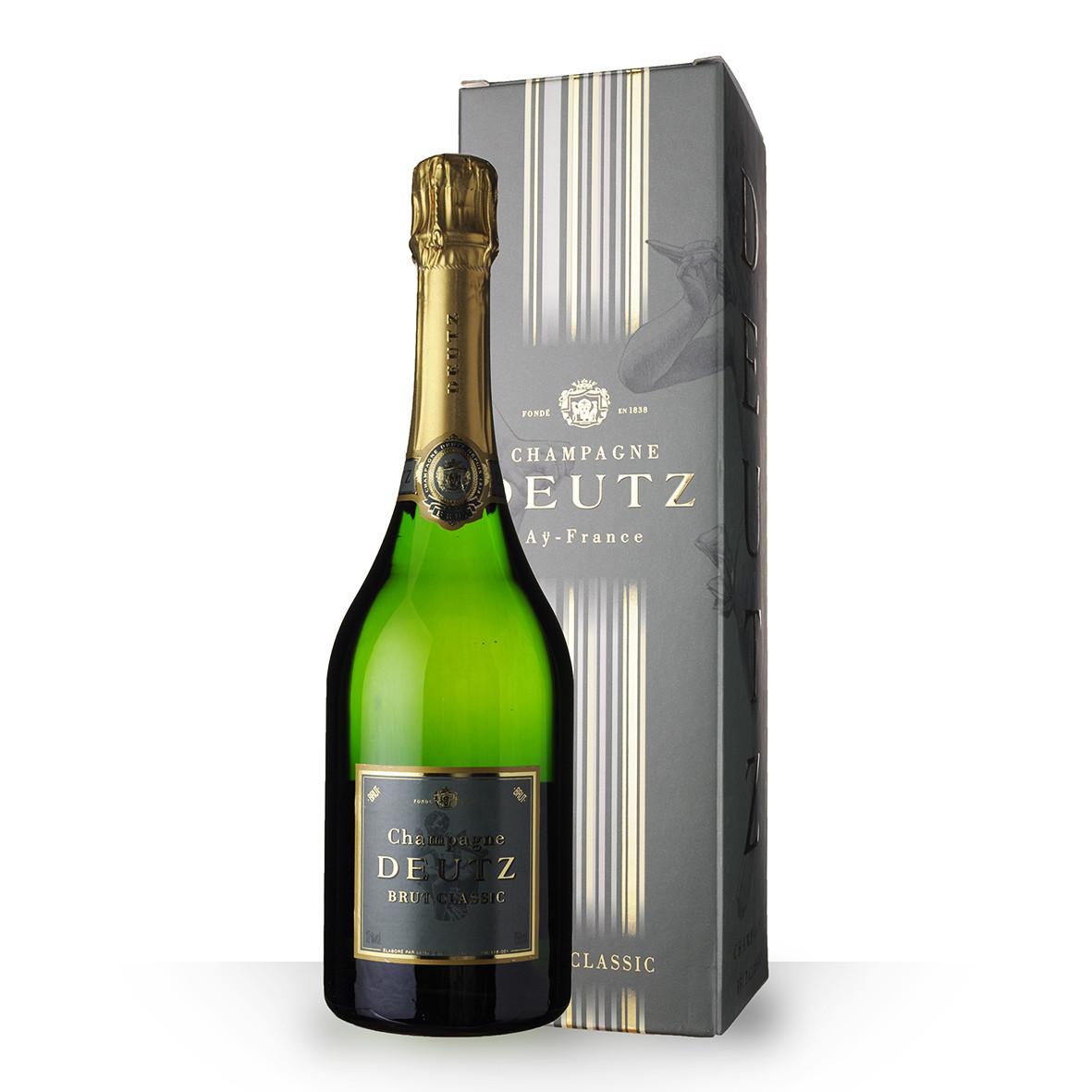 Champagne Deutz Brut Classic 75cl Etui www.odyssee-vins.com