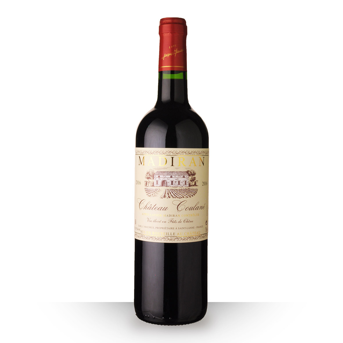 Château Coulané Madiran Rouge 2016 75cl www.odyssee-vins.com