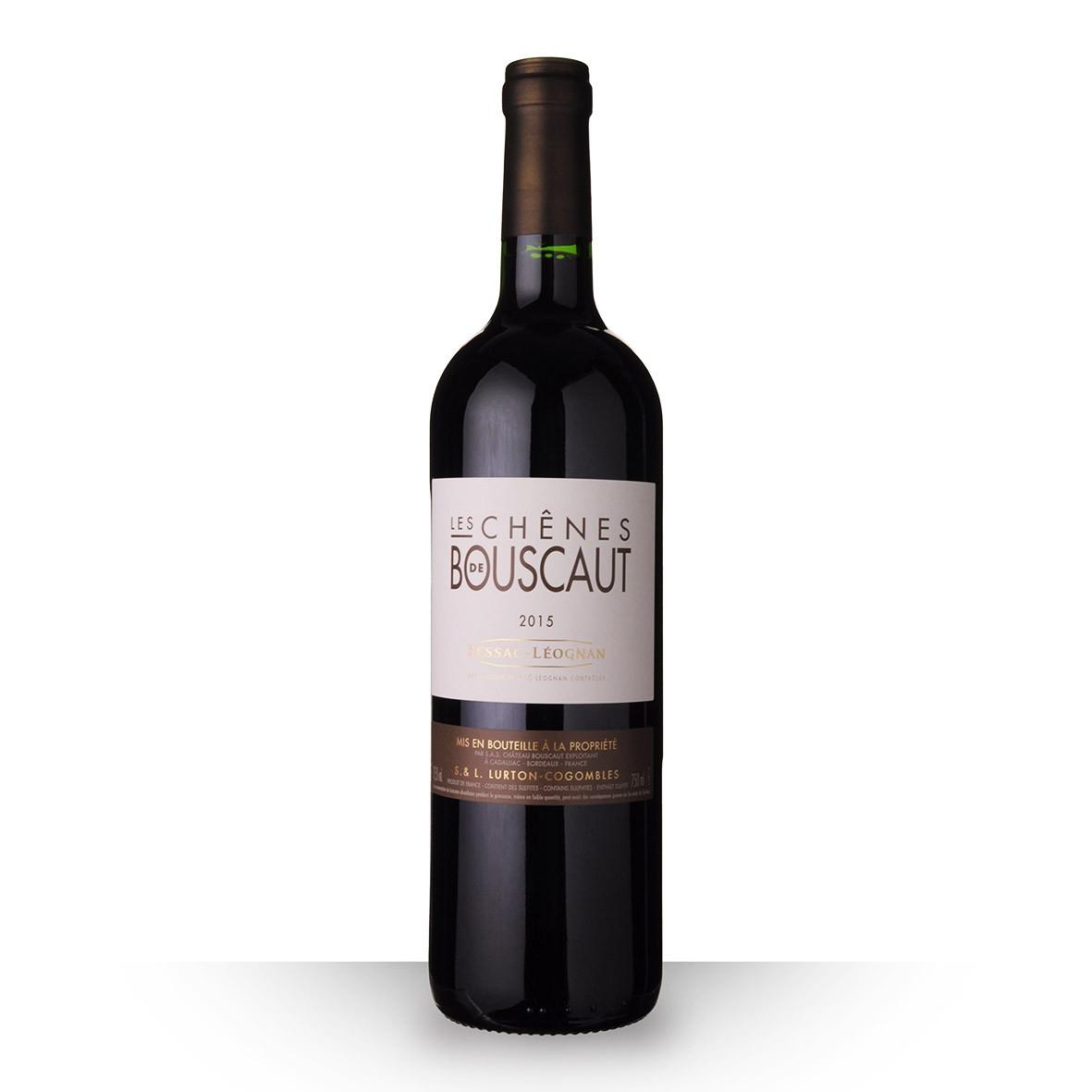 Les Chênes de Bouscaut Pessac-Léognan Rouge 2015 75cl www.odyssee-vins.com