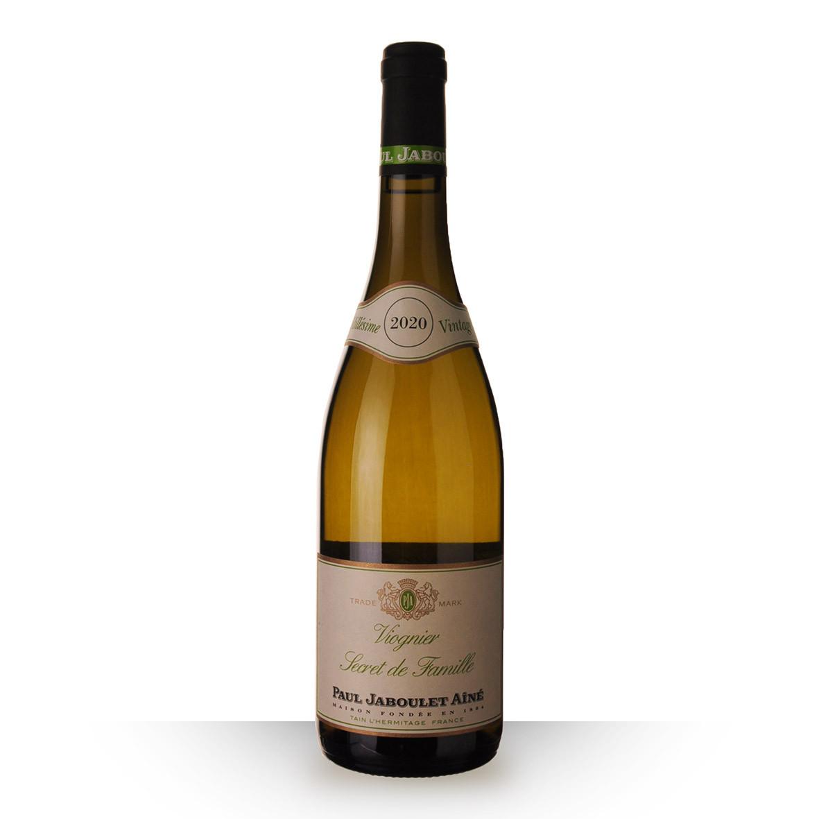 Paul Jaboulet Aîné Secret de Famille Viognier Méditerranée Blanc 2020 75cl www.odyssee-vins.com