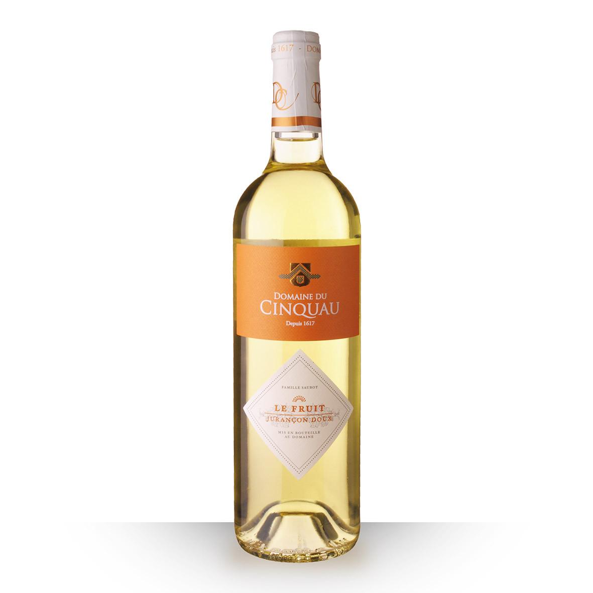 Domaine du Cinquau le Fruit Jurançon Blanc 2018 75cl www.odyssee-vins.com