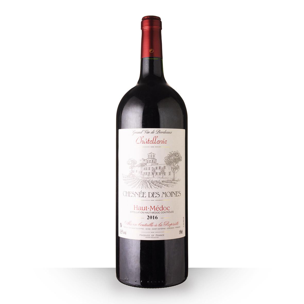 Chesnée des Moines Haut-Médoc Rouge 2016 150cl www.odyssee-vins.com