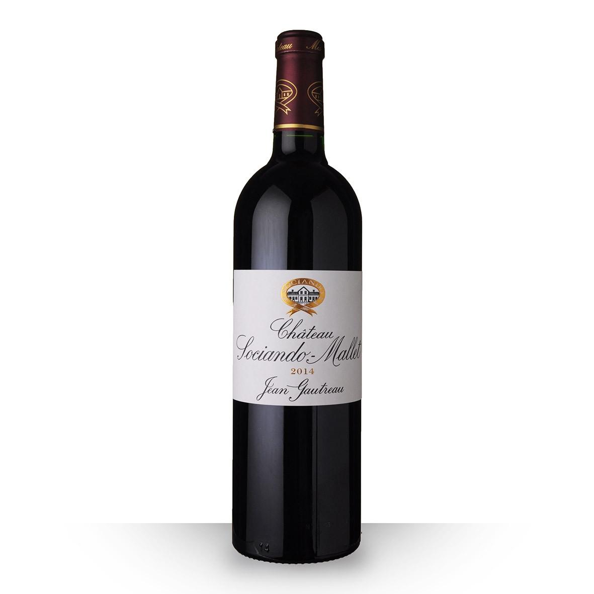 Château Sociando-Mallet Haut-Médoc Rouge 2014 75cl www.odyssee-vins.com