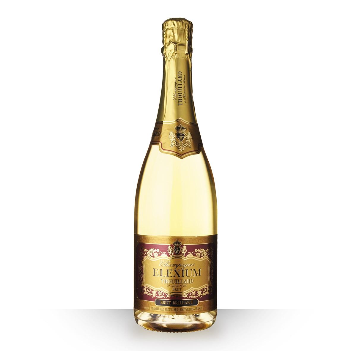 Champagne Trouillard Elexium Brut Brillant 75cl www.odyssee-vins.com