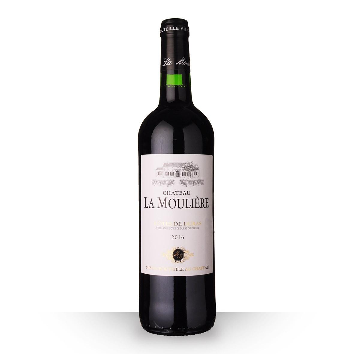 Château la Moulière Côtes de Duras Rouge 2016 75cl www.odyssee-vins.com