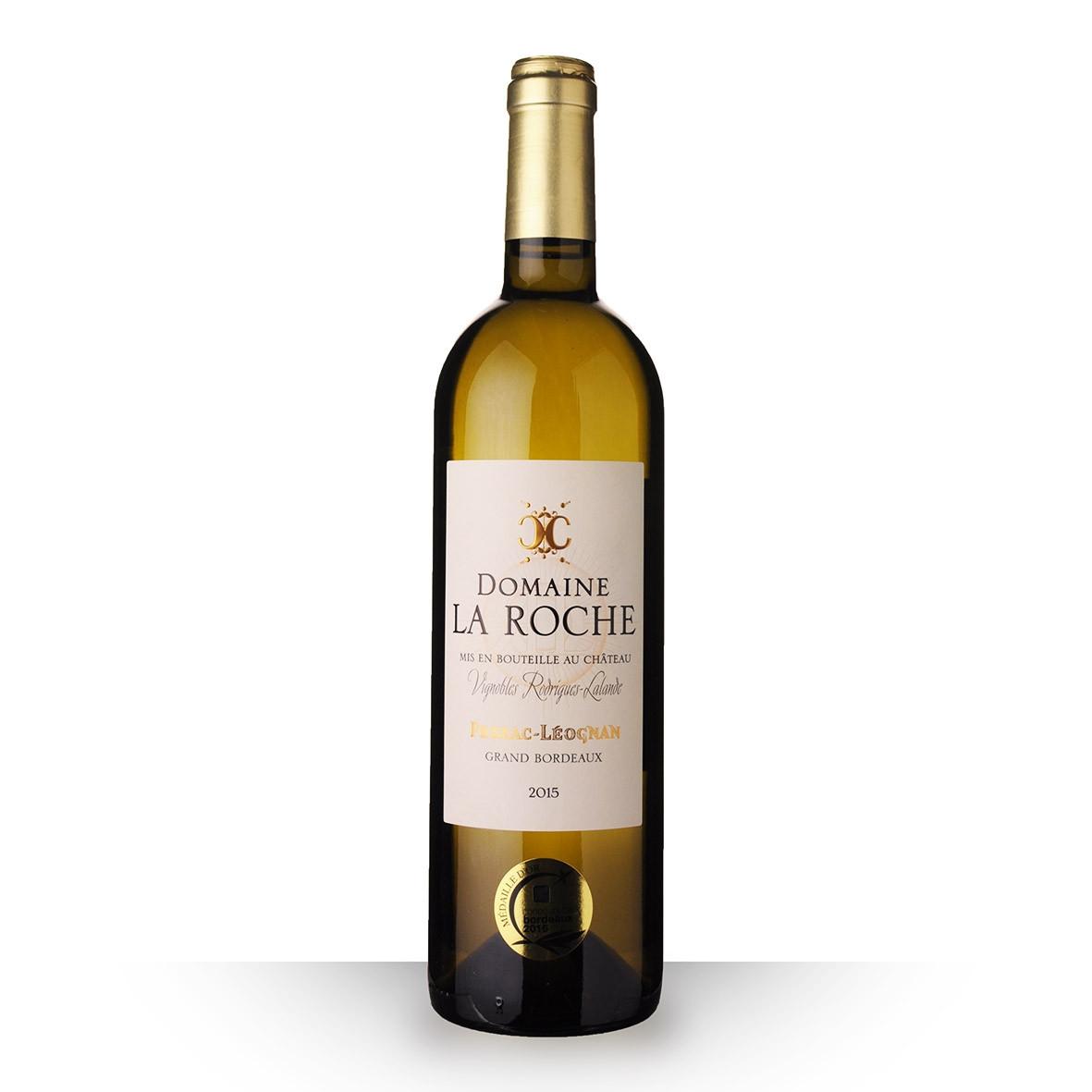 Domaine la Roche Pessac-Léognan Blanc 2015 75cl www.odyssee-vins.com