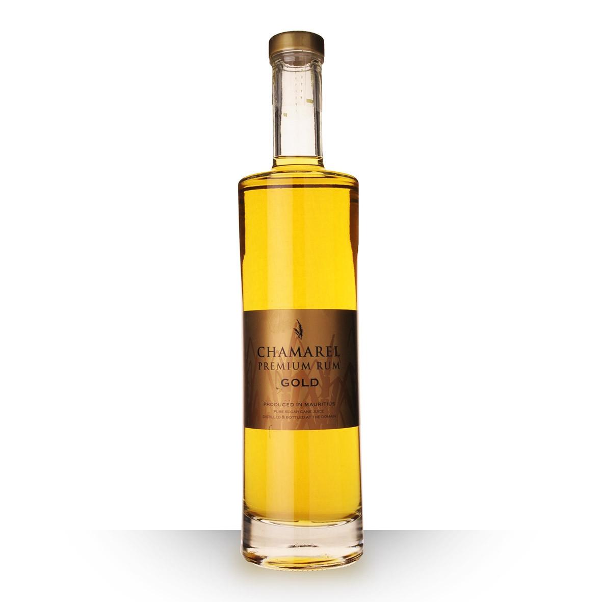 Rhum Chamarel Gold 70cl www.odyssee-vins.com