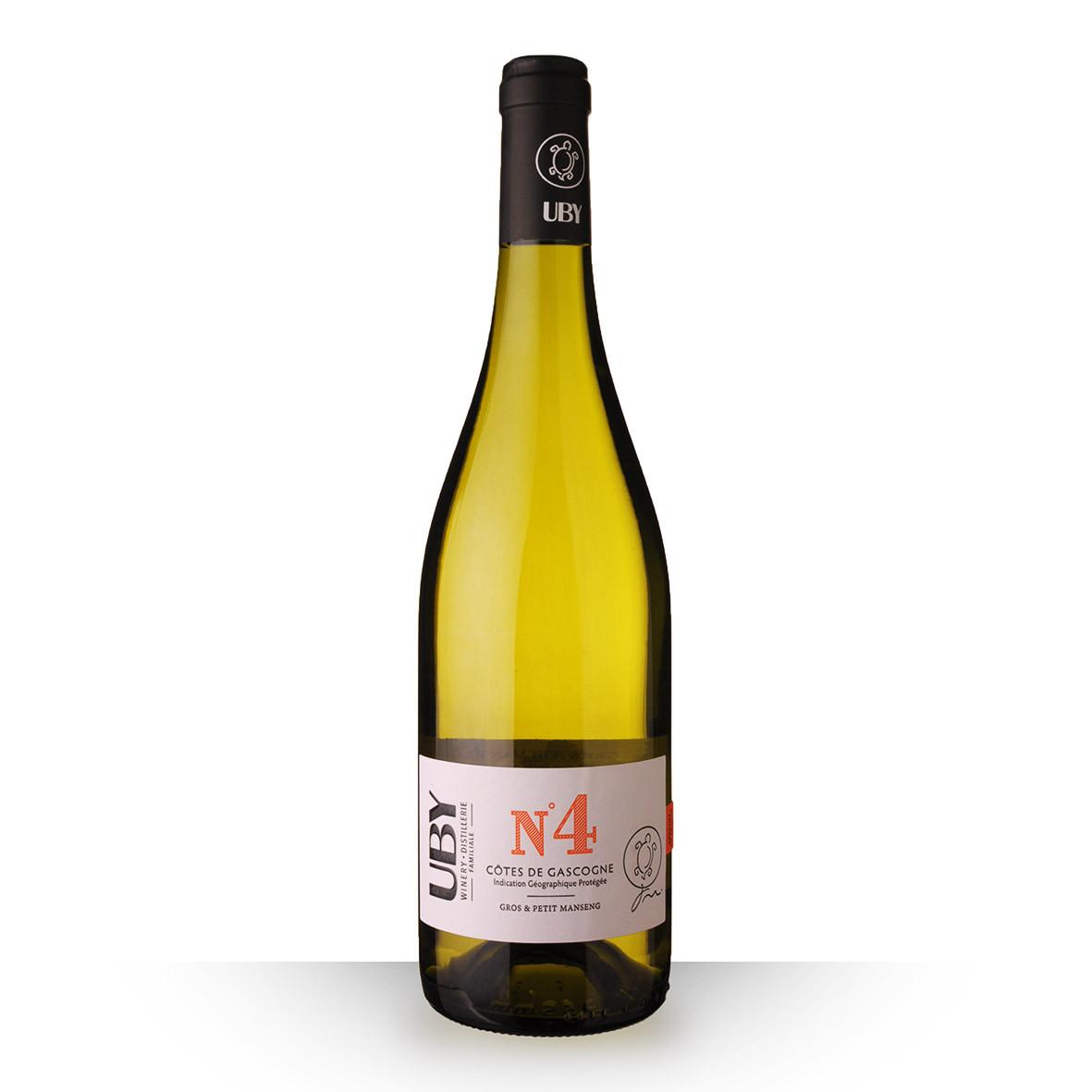 Uby N°4 Gros et Petit Manseng Côtes de Gascogne Blanc 75cl www.odyssee-vins.com
