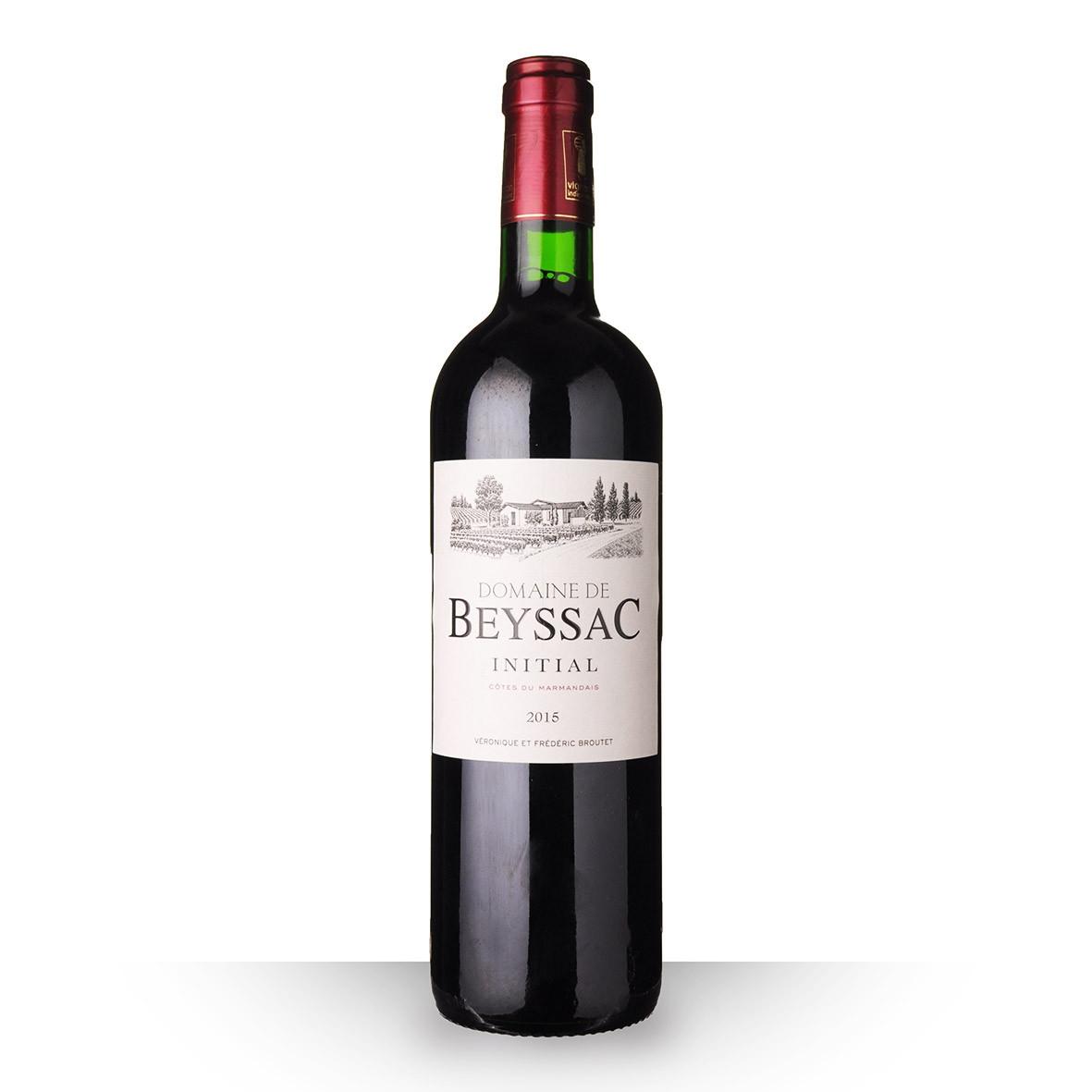 Domaine de Beyssac Initial Côtes du Marmandais Rouge 2015 75cl www.odyssee-vins.com
