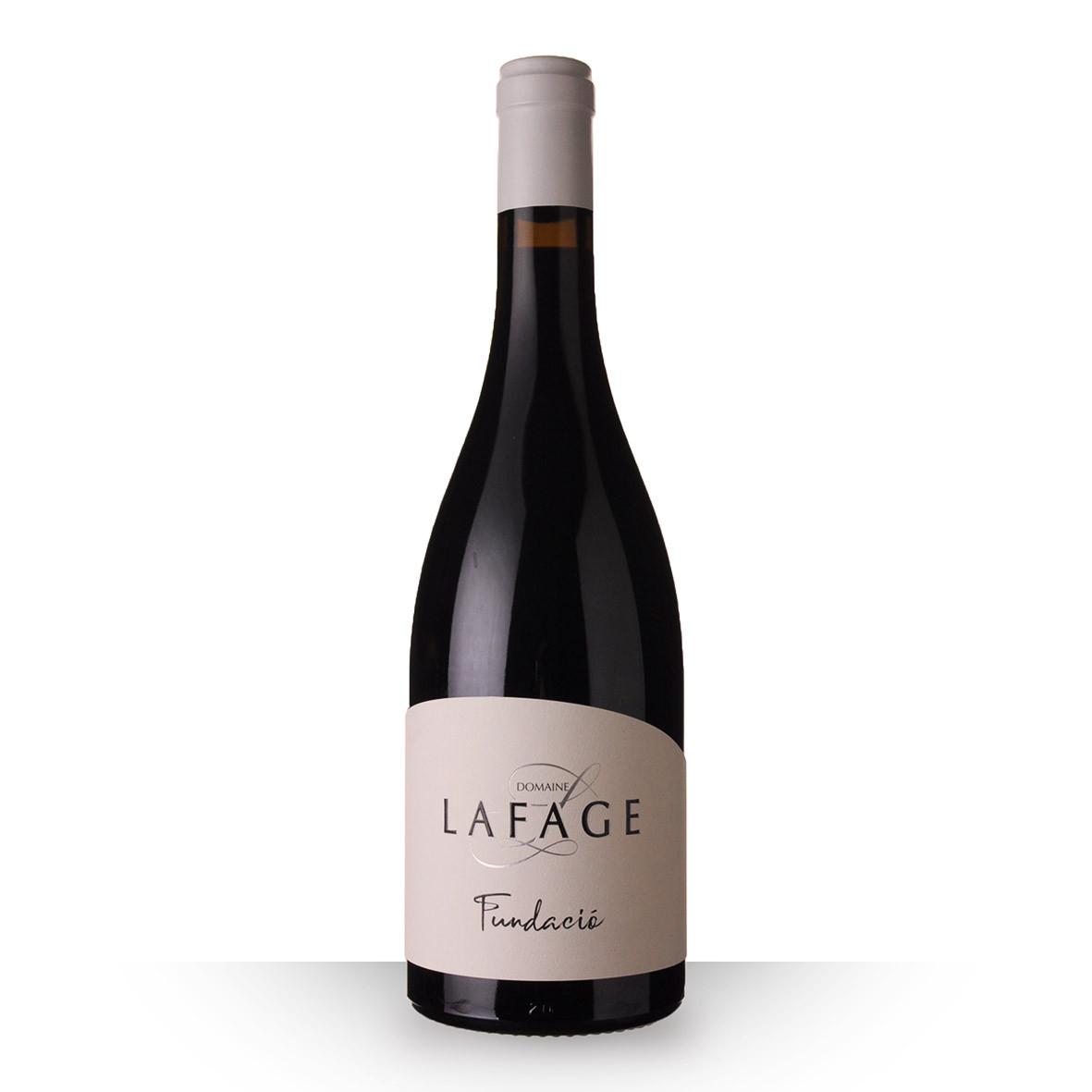 Lafage Fundacio Côtes du Roussillon Villages Rouge 2018 75cl www.odyssee-vins.com
