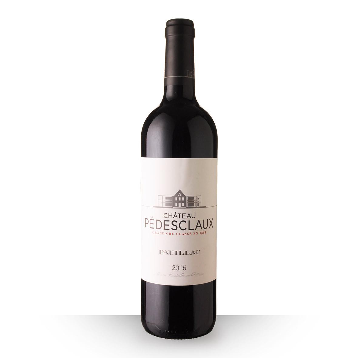 Château Pedesclaux Pauillac Rouge 2016 75cl www.odyssee-vins.com