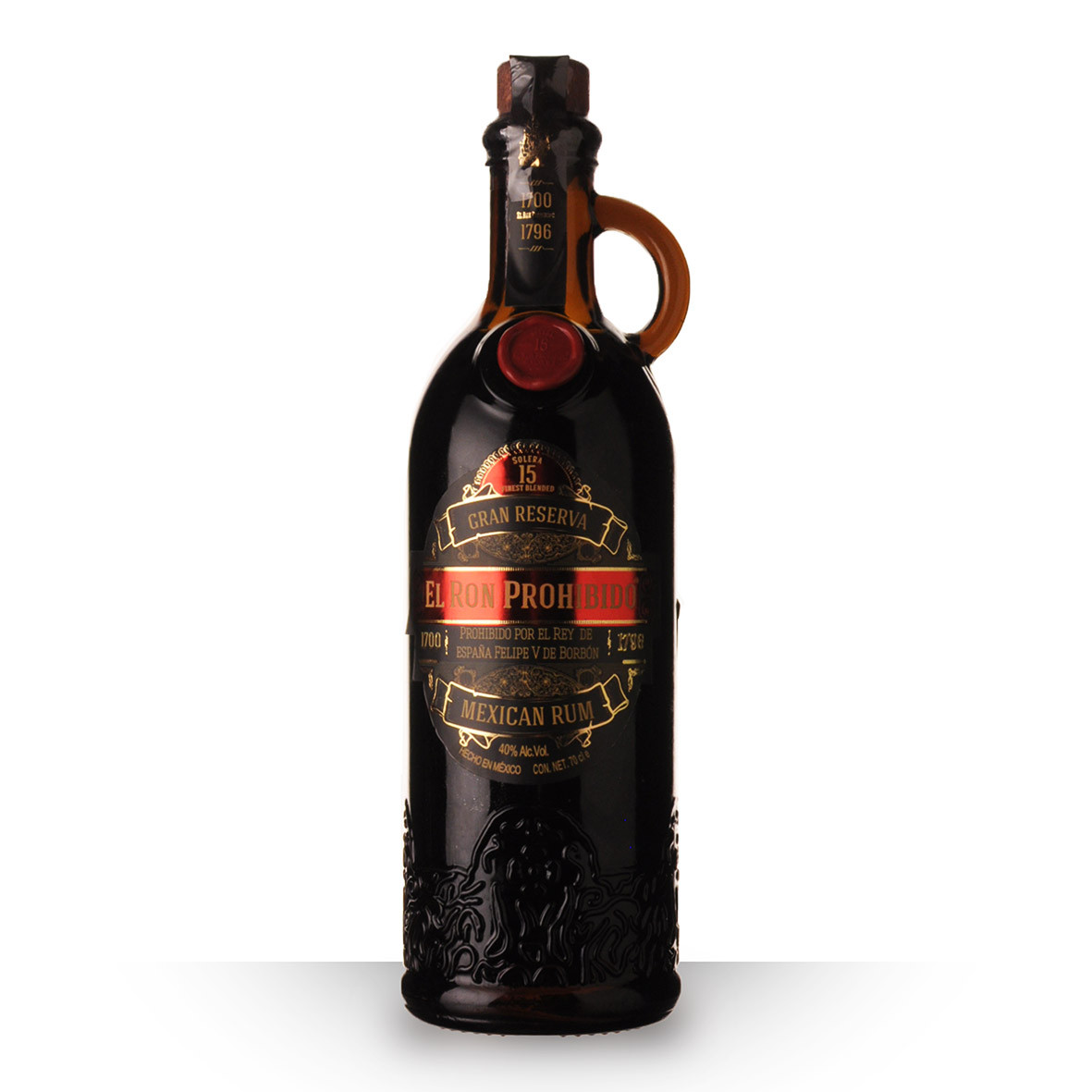 Rhum Prohibido 15 ans 70cl www.odyssee-vins.com