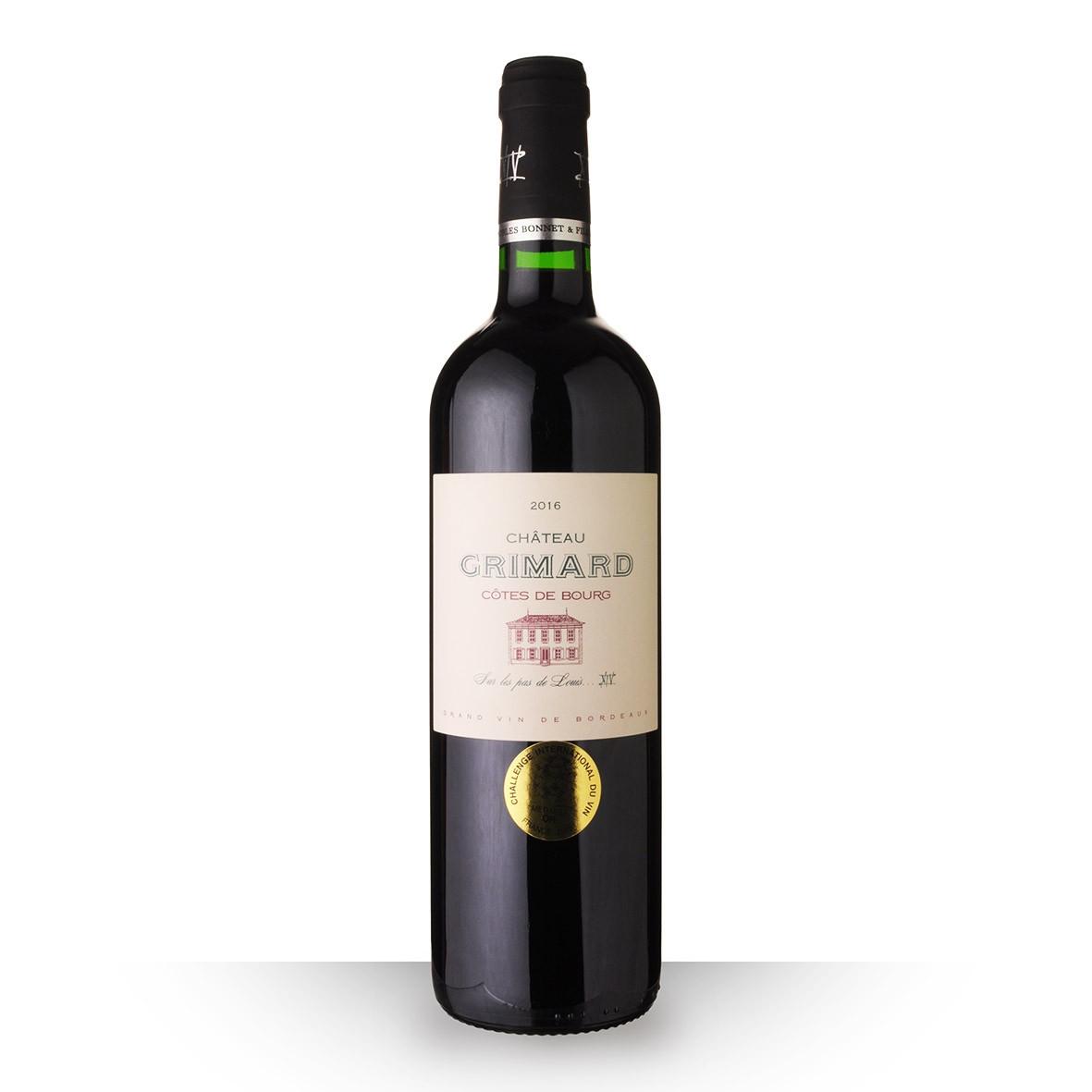 Château Grimard Côtes de Bourg Rouge 2016 75cl www.odyssee-vins.com