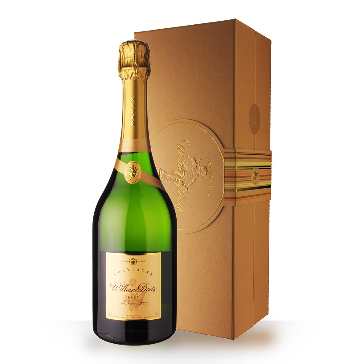 Champagne Deutz Cuvée William Deutz 2009 Brut 75cl Coffret www.odyssee-vins.com