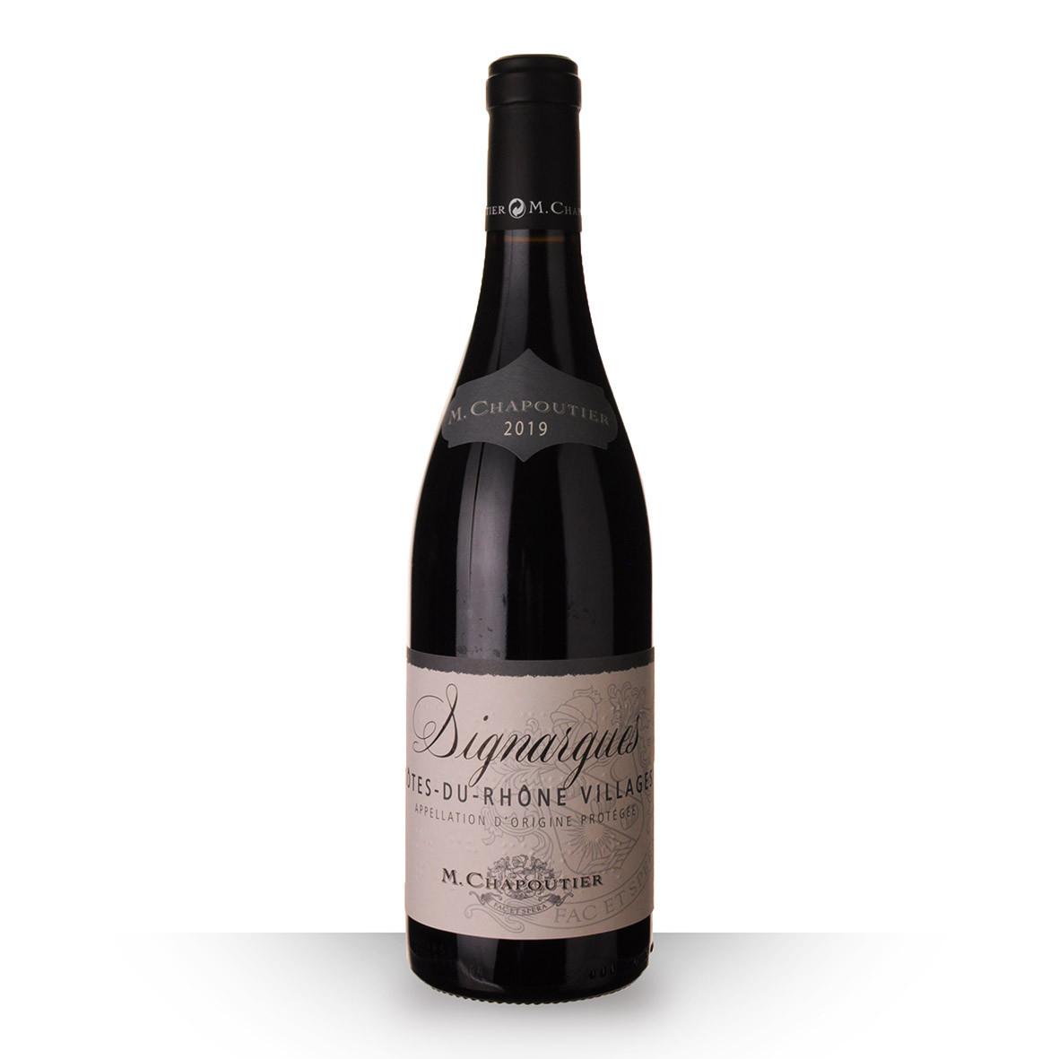 Chapoutier Signargues Côtes du Rhône Villages Rouge 2019 75cl www.odyssee-vins.com