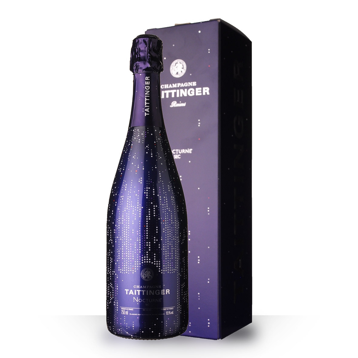 Champagne Taittinger Nocturne City Light 75cl Etui www.odyssee-vins.com