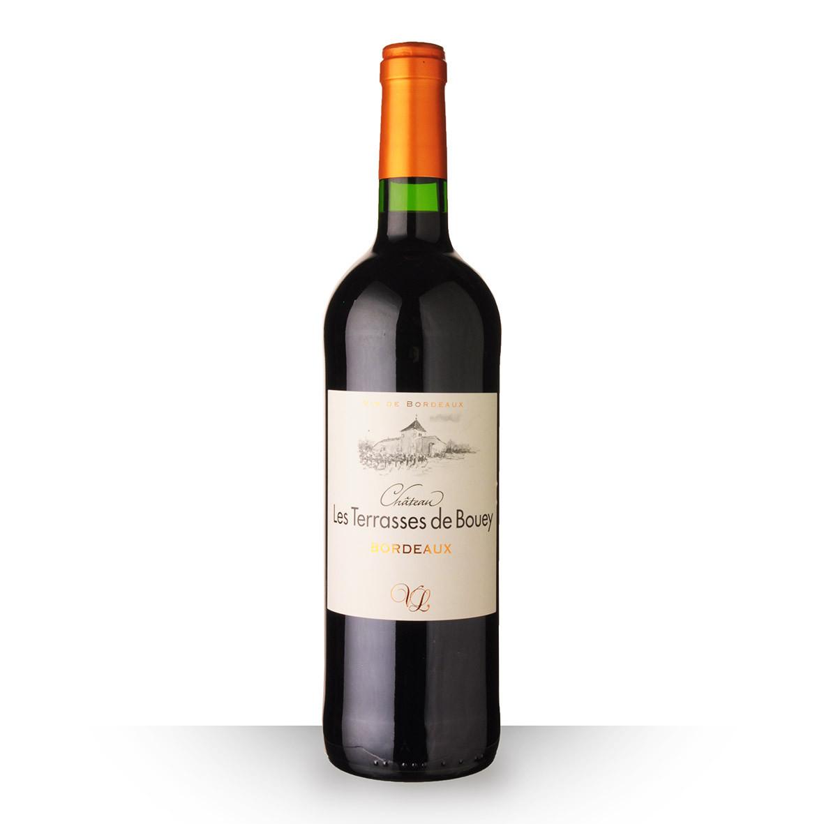 Château les Terrasses de Bouey Bordeaux Rouge 2019 75cl www.odyssee-vins.com