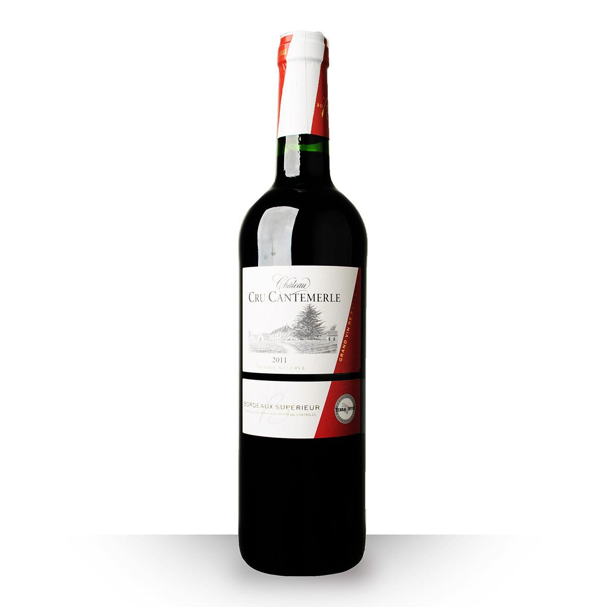 Château Cru Cantemerle Grande Réserve Bordeaux Supérieur Rouge 2011 75cl www.odyssee-vins.com