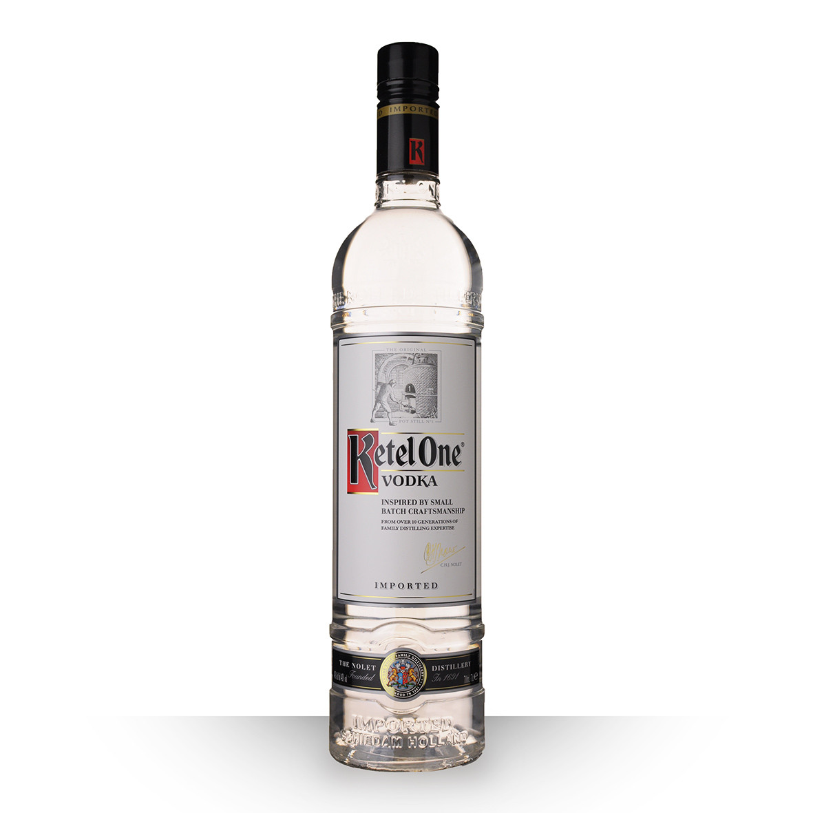 Vodka Ketel One 70cl www.odyssee-vins.com