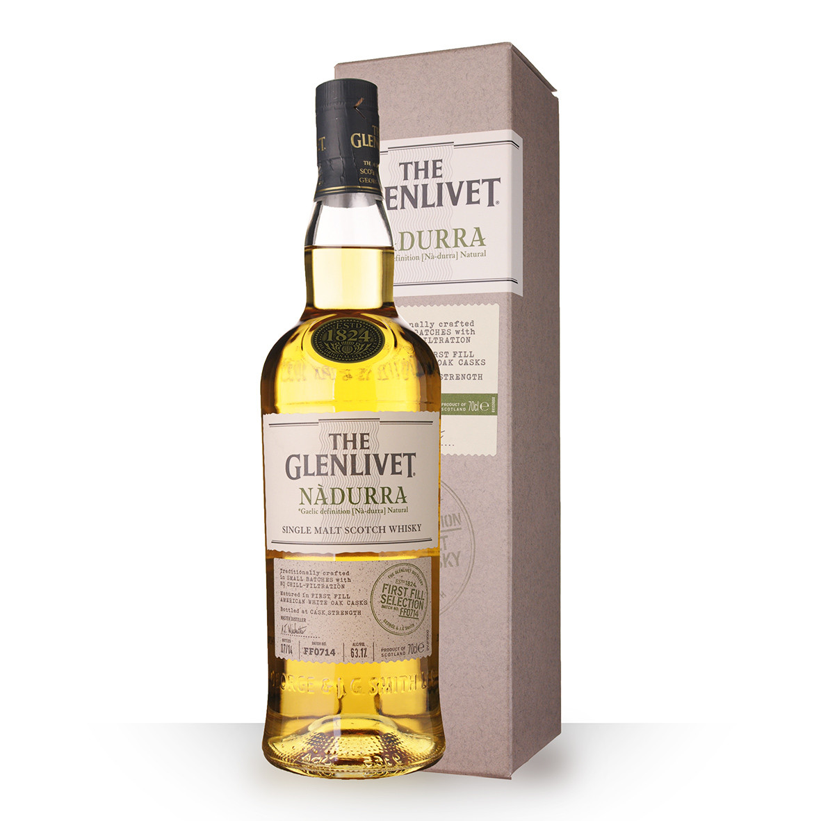 Whisky The Glenlivet Nàdurra First Fill Selection 70cl Etui www.odyssee-vins.com