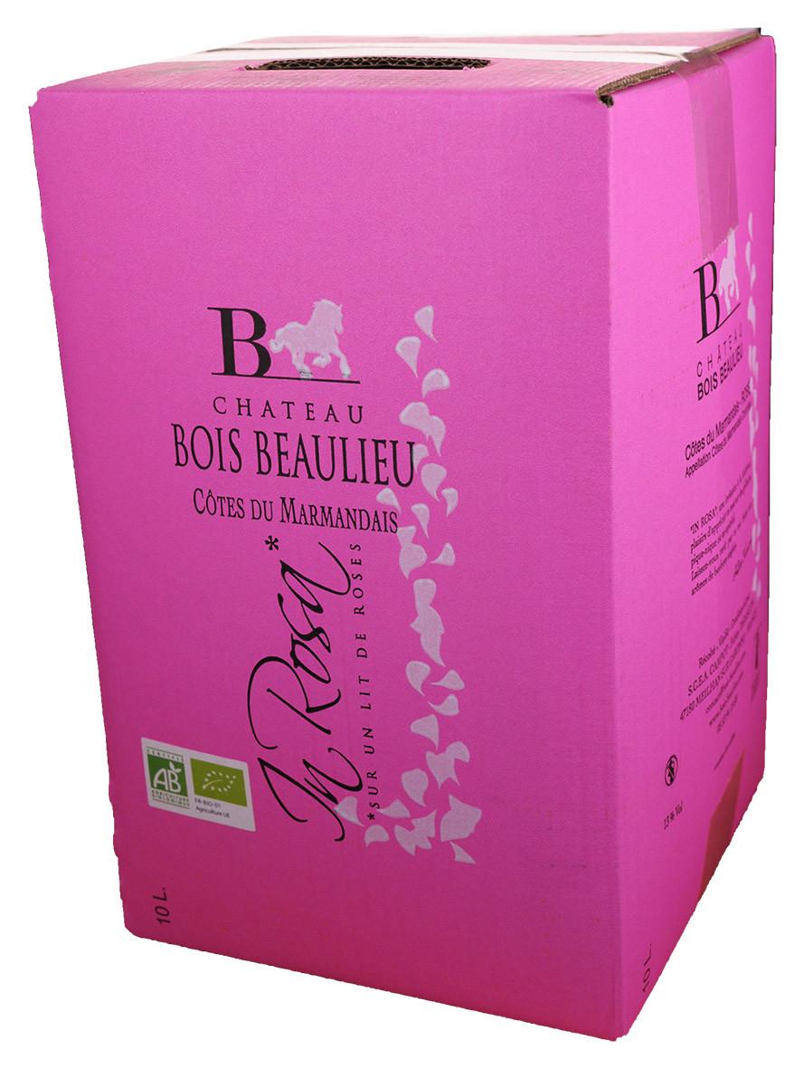 Bag-in-Box 10L Château Bois Beaulieu Côtes du Marmandais Rosé www.odyssee-vins.com