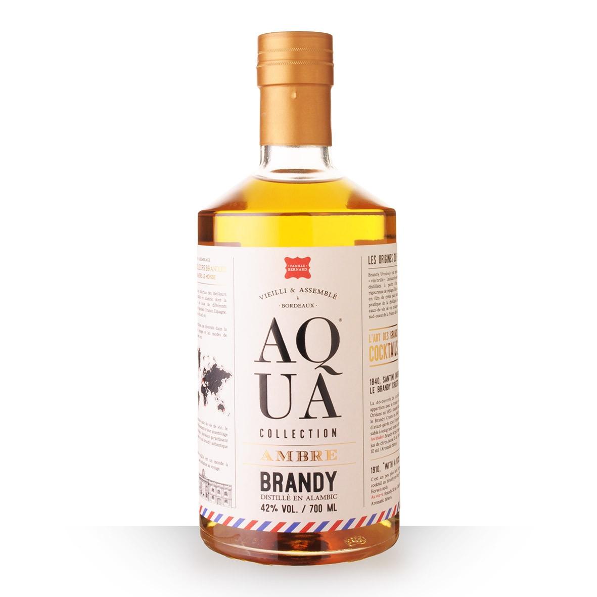Eau-de-vie de vin Aqua Brandy 70cl www.odyssee-vins.com