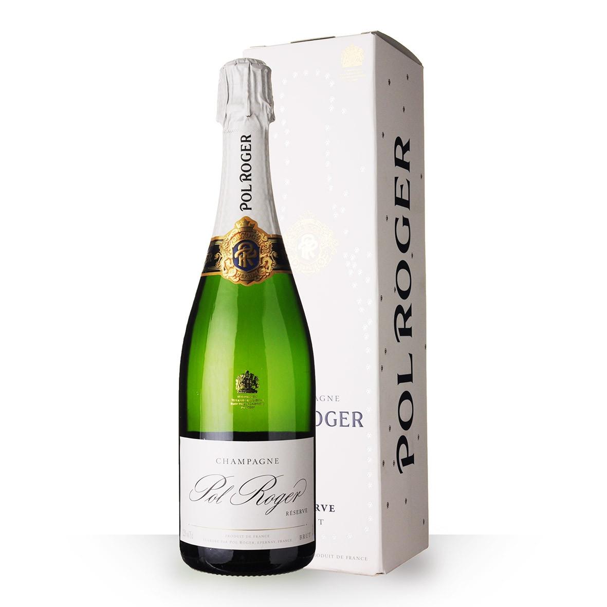Champagne Pol Roger Brut Réserve 75cl Etui www.odyssee-vins.com