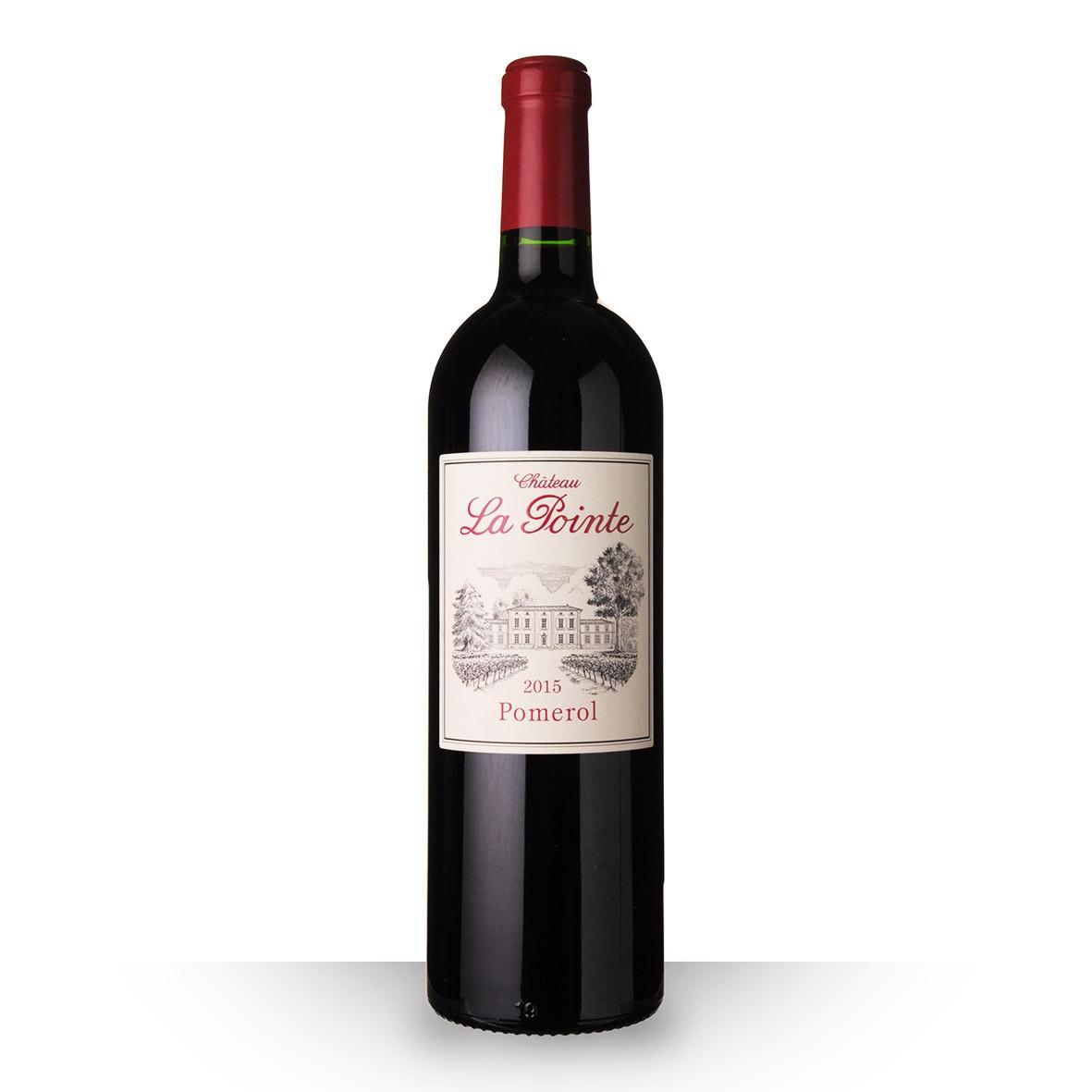 Château la Pointe Pomerol Rouge 2015 75cl www.odyssee-vins.com