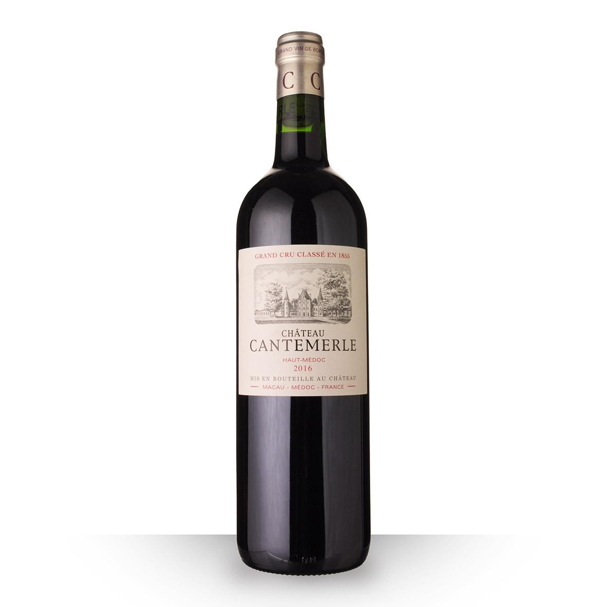 Château Cantemerle Haut-Médoc Rouge 2016 75cl www.odyssee-vins.com